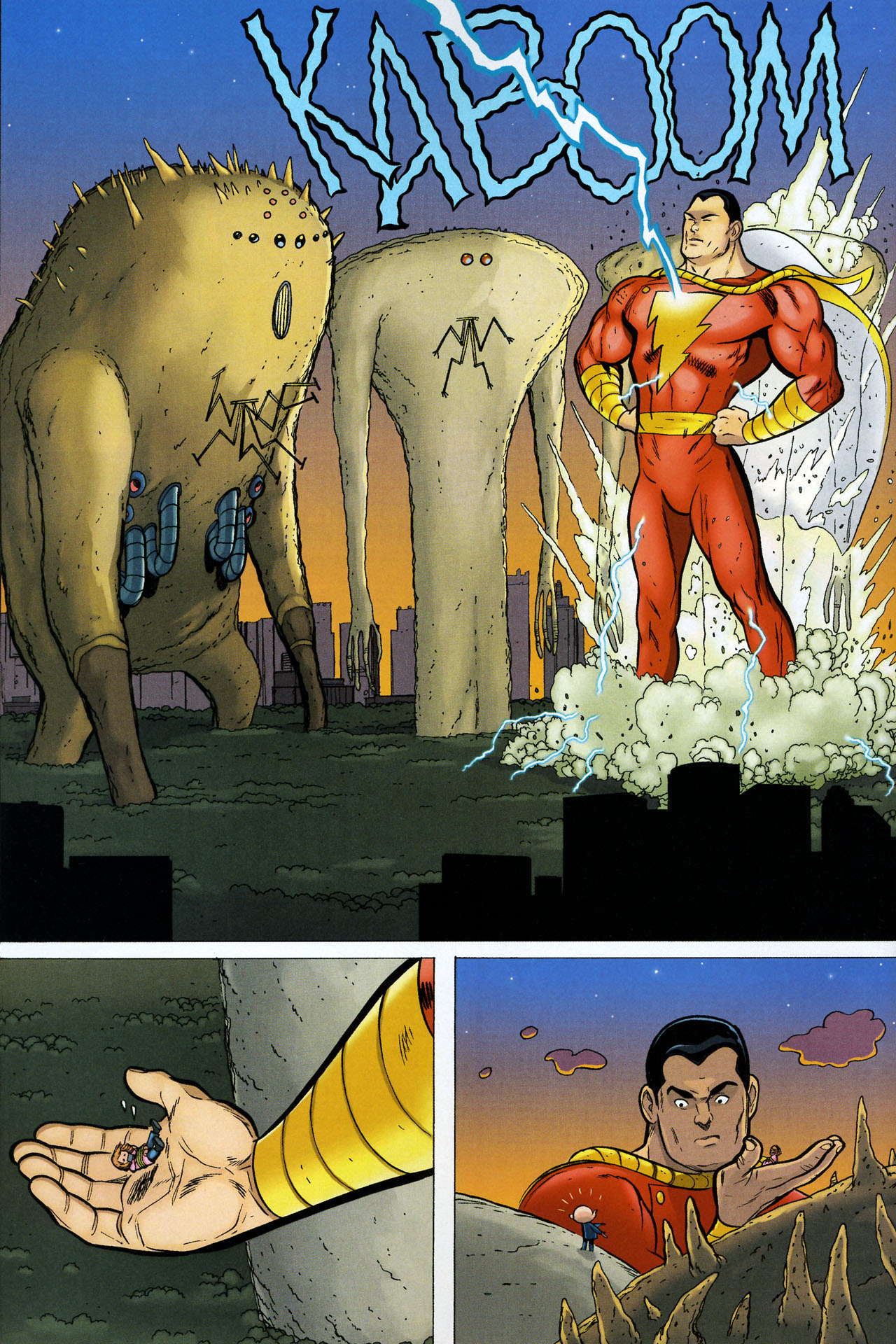 Read online Shazam!: The Monster Society of Evil comic -  Issue #4 - 32