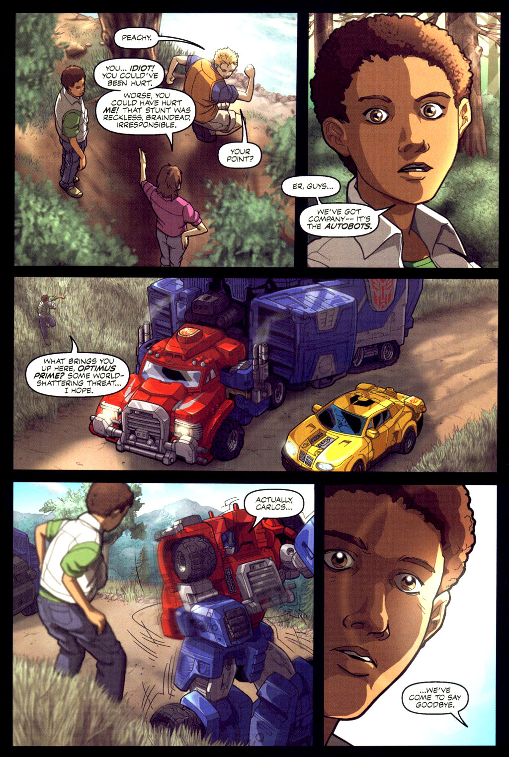 Read online Transformers Armada comic -  Issue #6 - 10