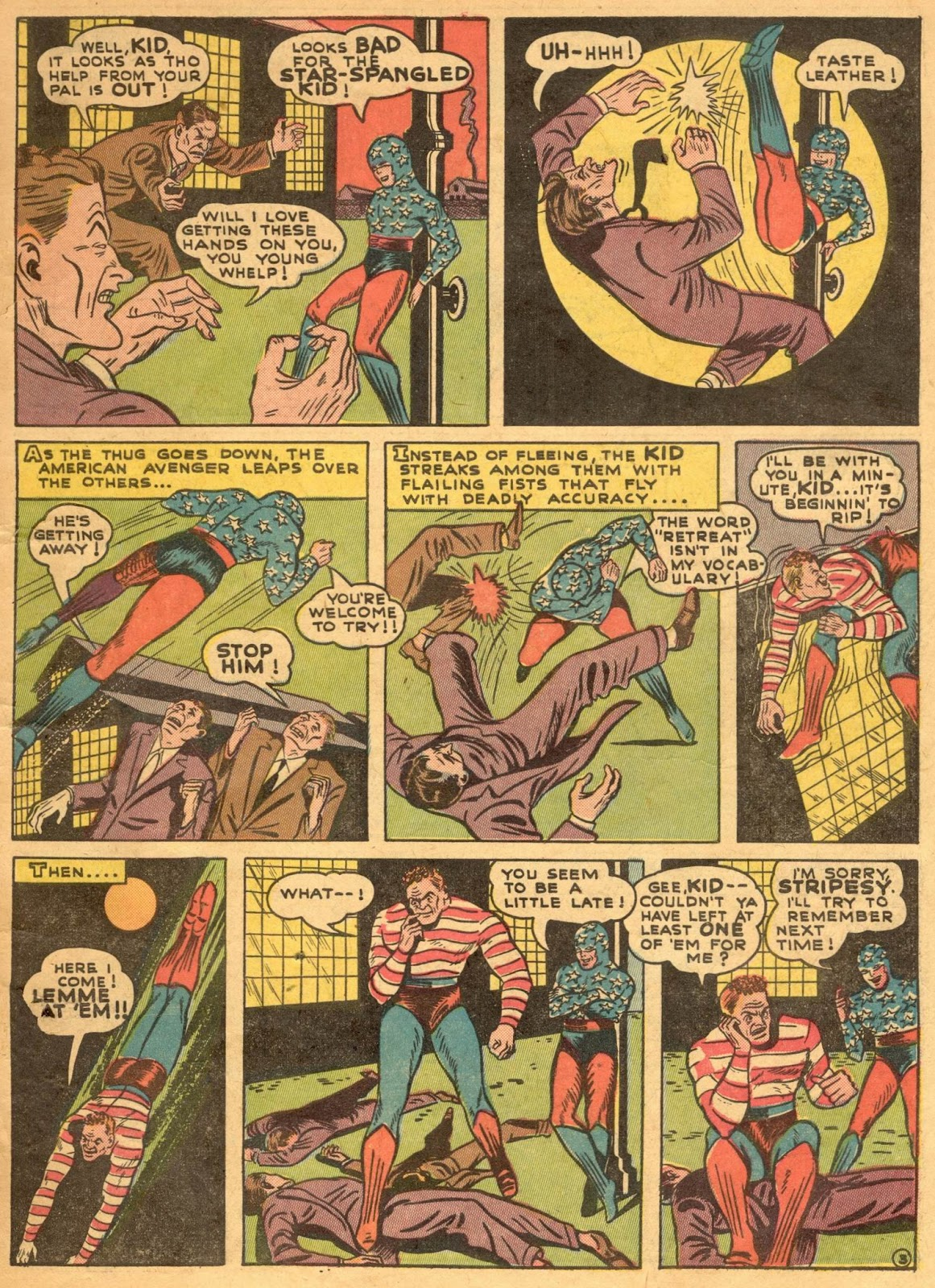 Star Spangled Comics (1941) issue 1 - Page 5