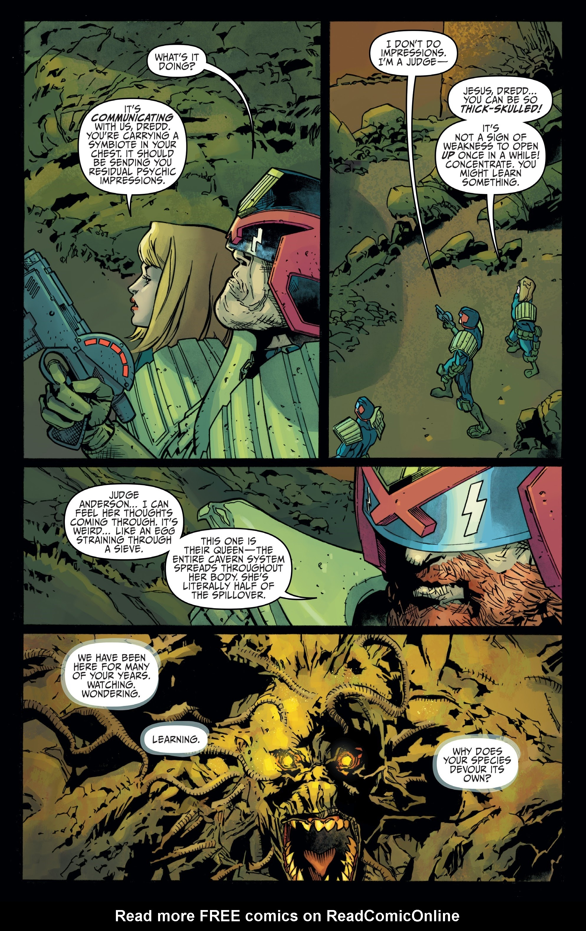 Judge Dredd: Toxic #4 #4 - English 4