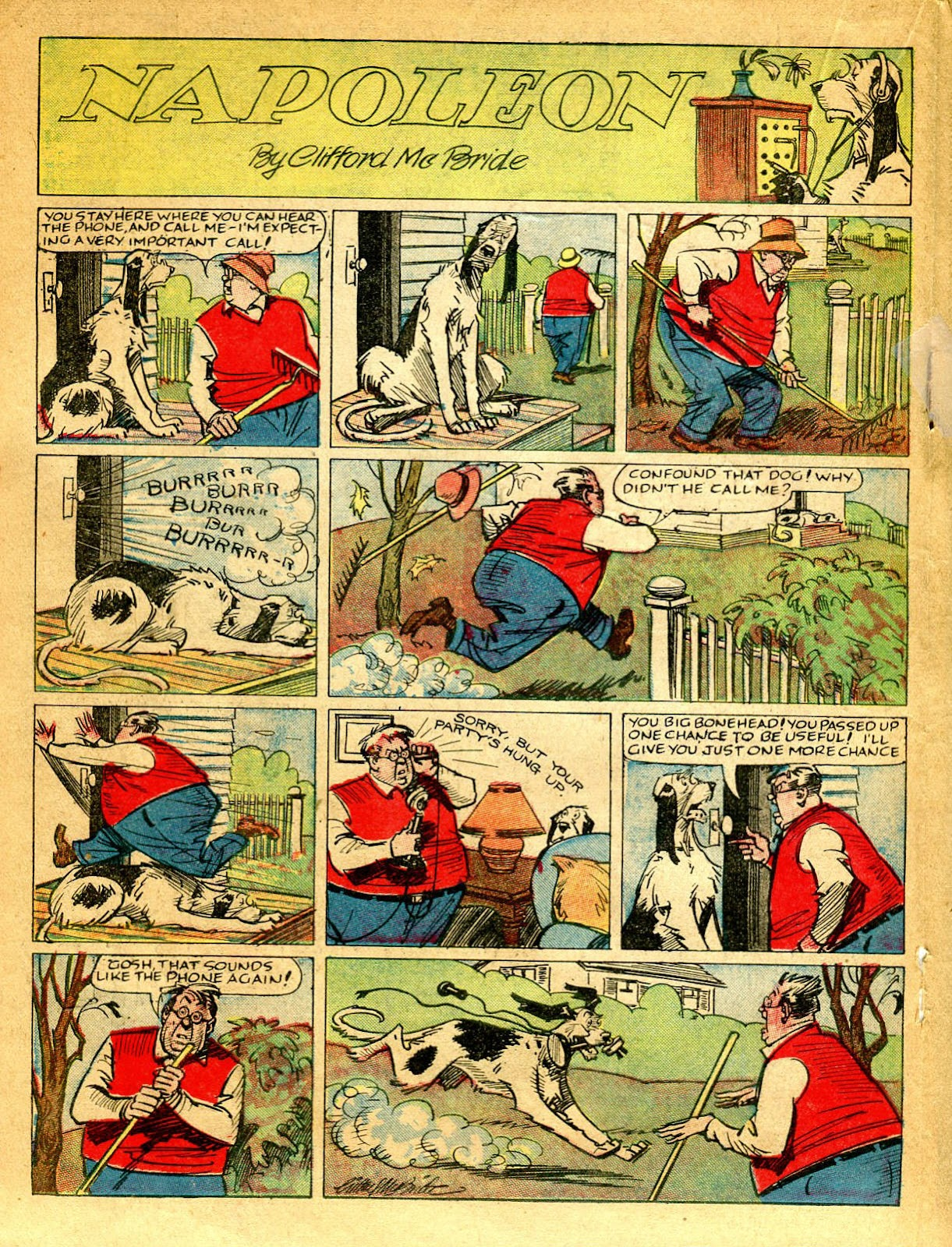 Read online Famous Funnies comic -  Issue #41 - 34