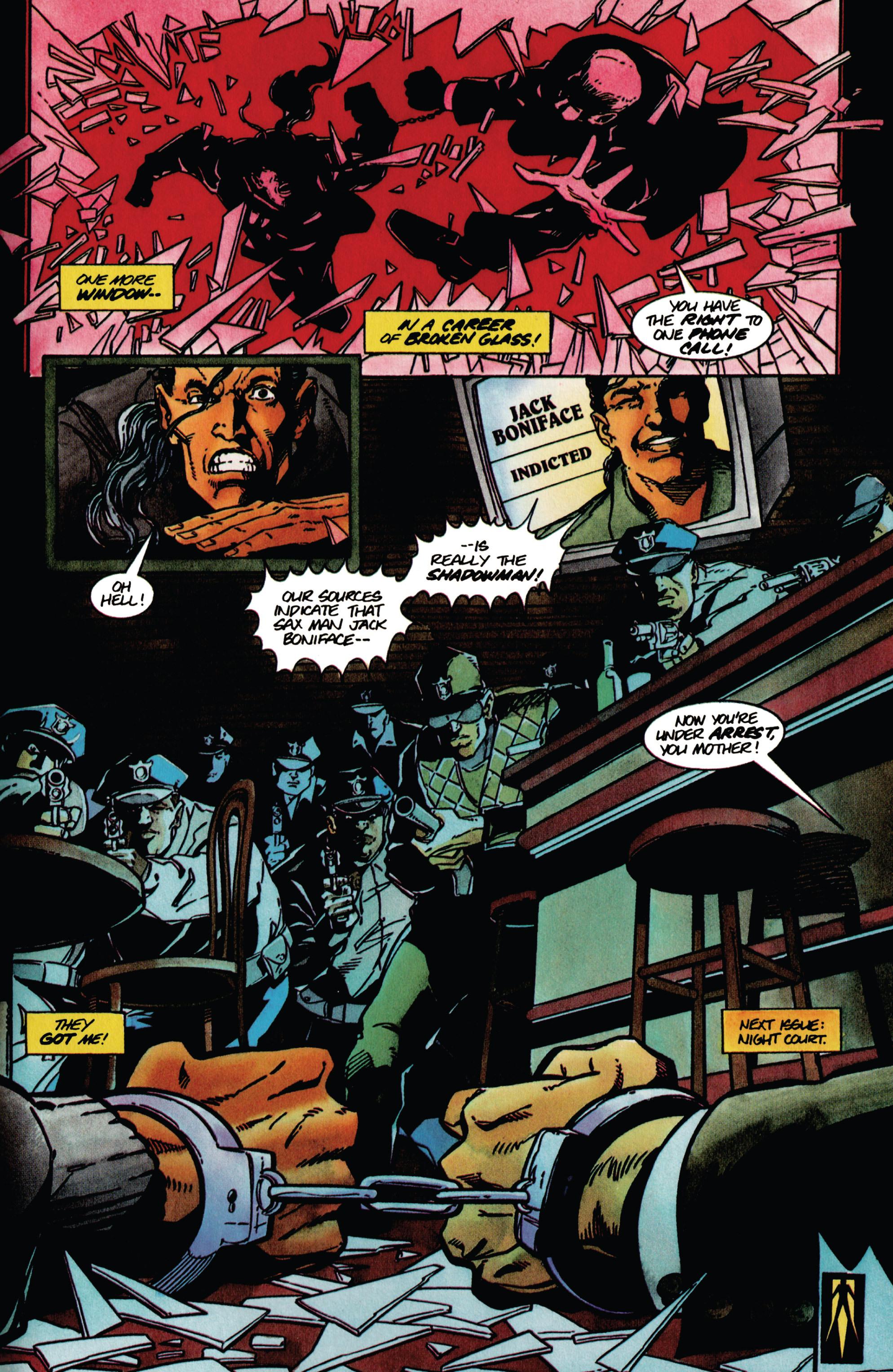 Read online Shadowman (1992) comic -  Issue #41 - 21
