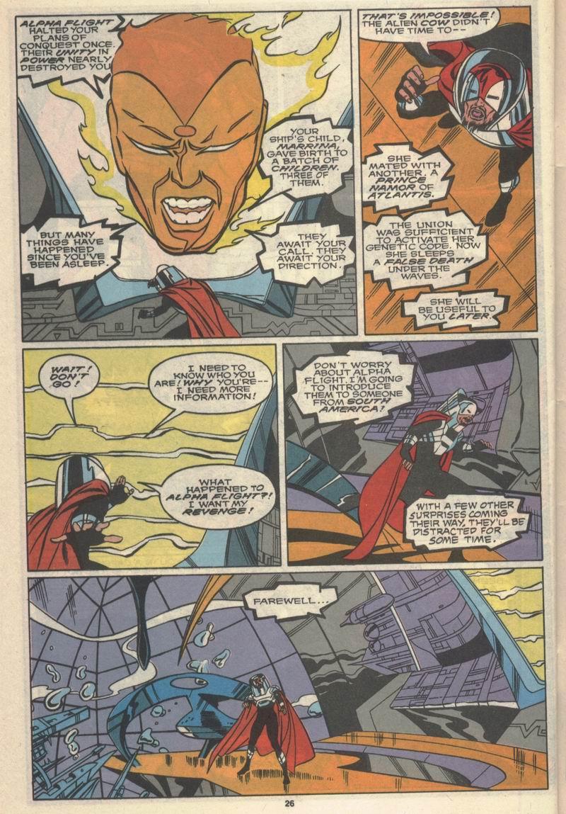 Read online Alpha Flight (1983) comic -  Issue #78 - 22