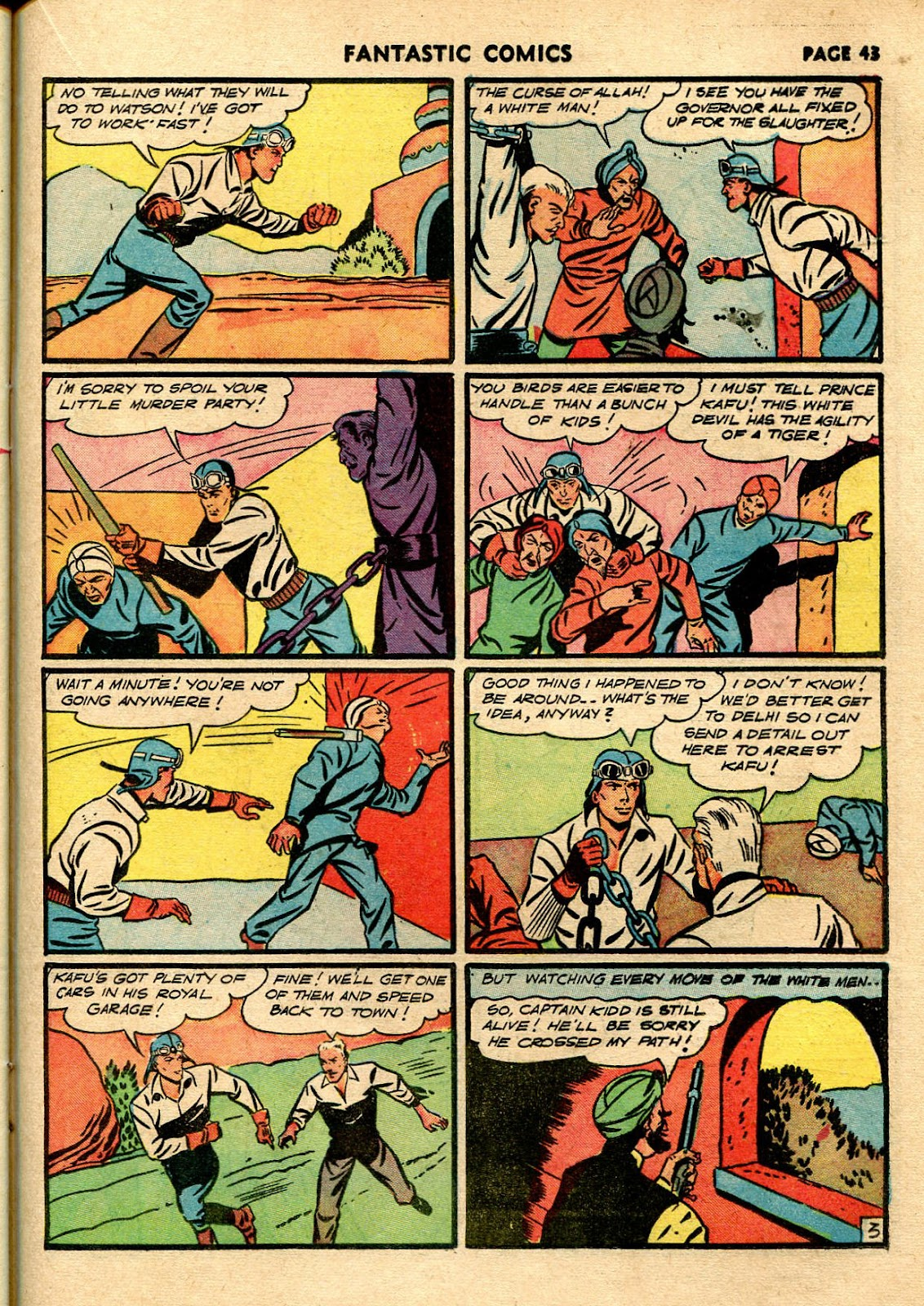 Read online Fantastic Comics comic -  Issue #21 - 41