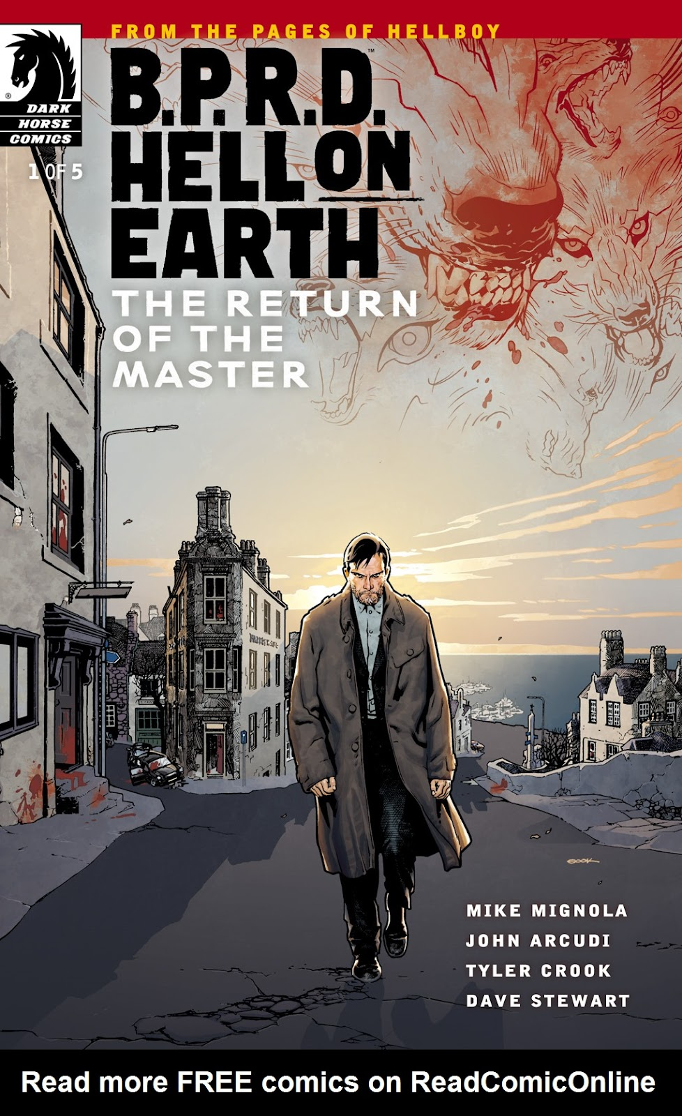 Read online B.P.R.D. Hell on Earth: The Return of the Master comic -  Issue #1 - 1