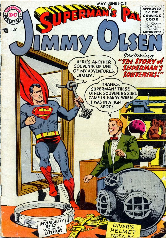 Supermans Pal Jimmy Olsen (1954) 5 Page 1