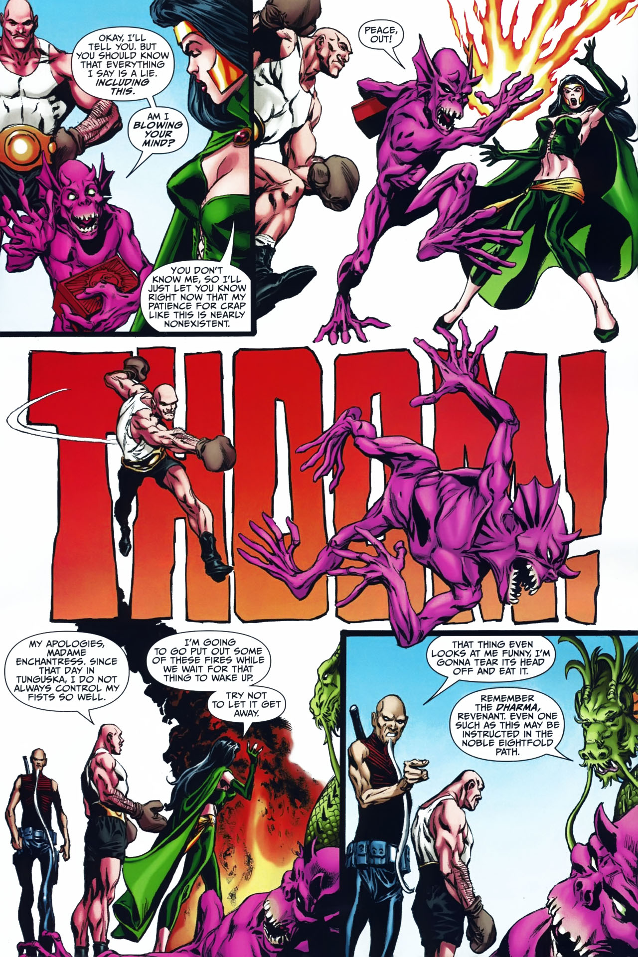 Read online Shadowpact comic -  Issue #24 - 7