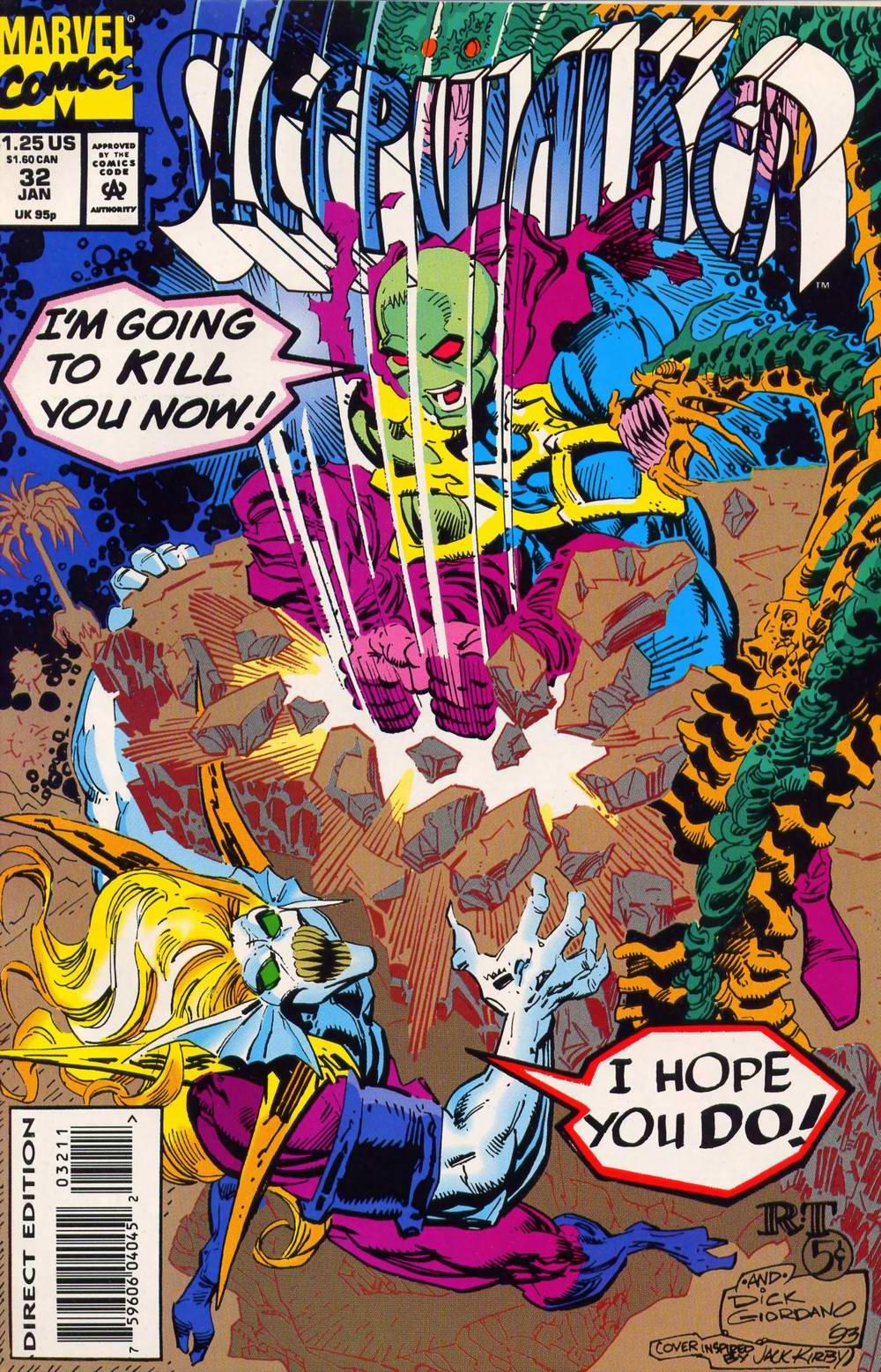 Read online Sleepwalker comic -  Issue #32 - 1