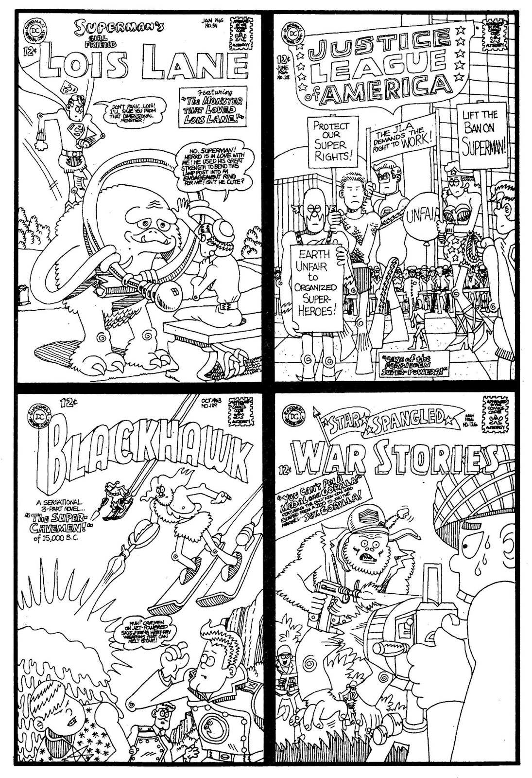 Read online The Nearly Complete Essential Hembeck Archives Omnibus comic -  Issue # TPB (Part 1) - 58