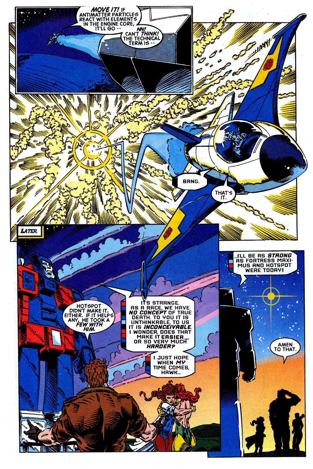 Read online Transformers: Generation 2 comic -  Issue #2 - 17