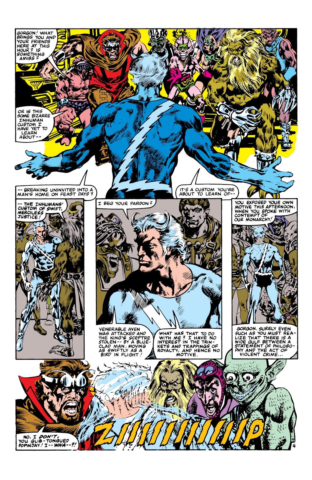 Read online Marvel Masterworks: The Inhumans comic -  Issue # TPB 2 (Part 3) - 107