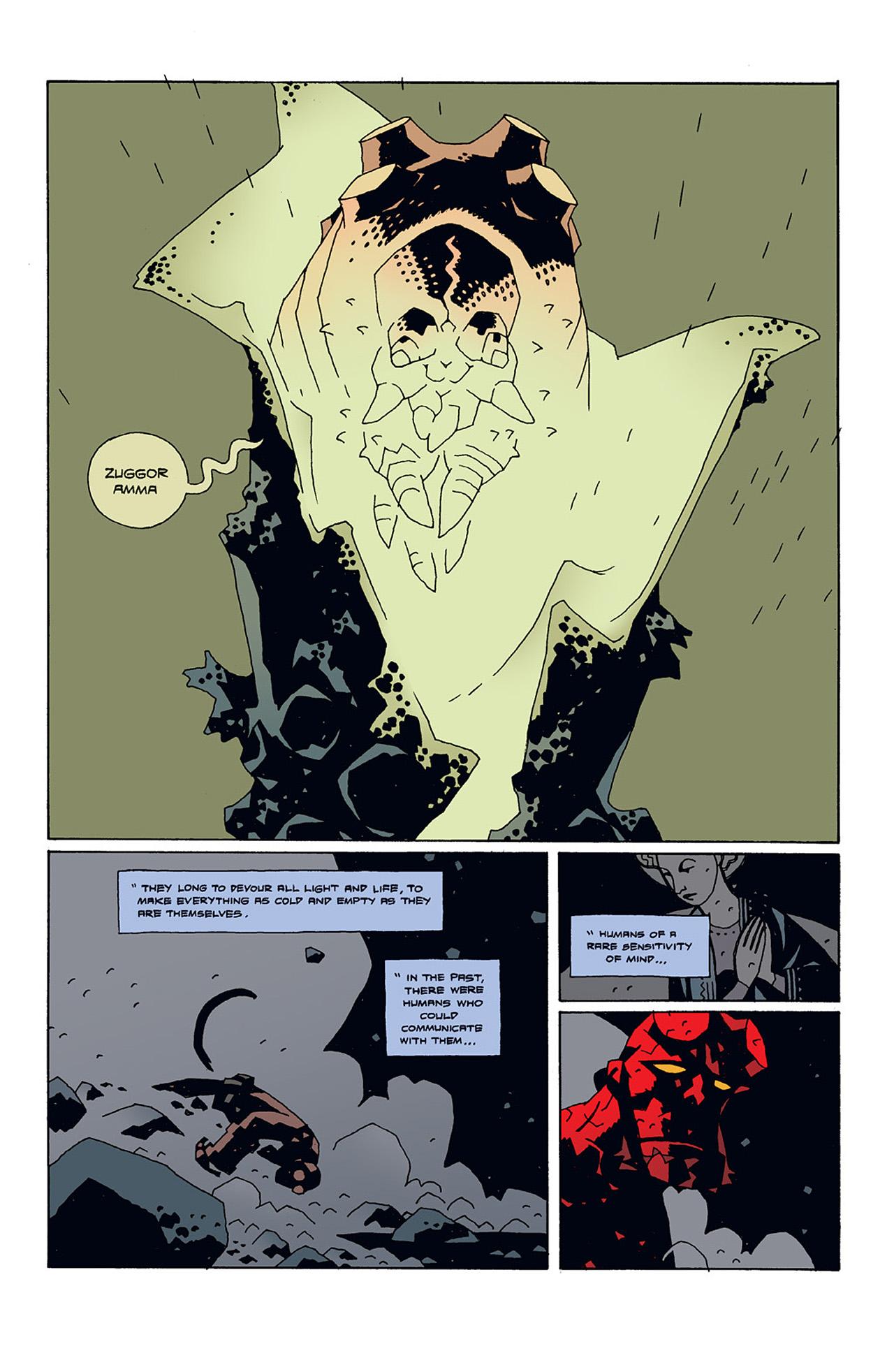 Read online Hellboy: Conqueror Worm comic -  Issue #3 - 17