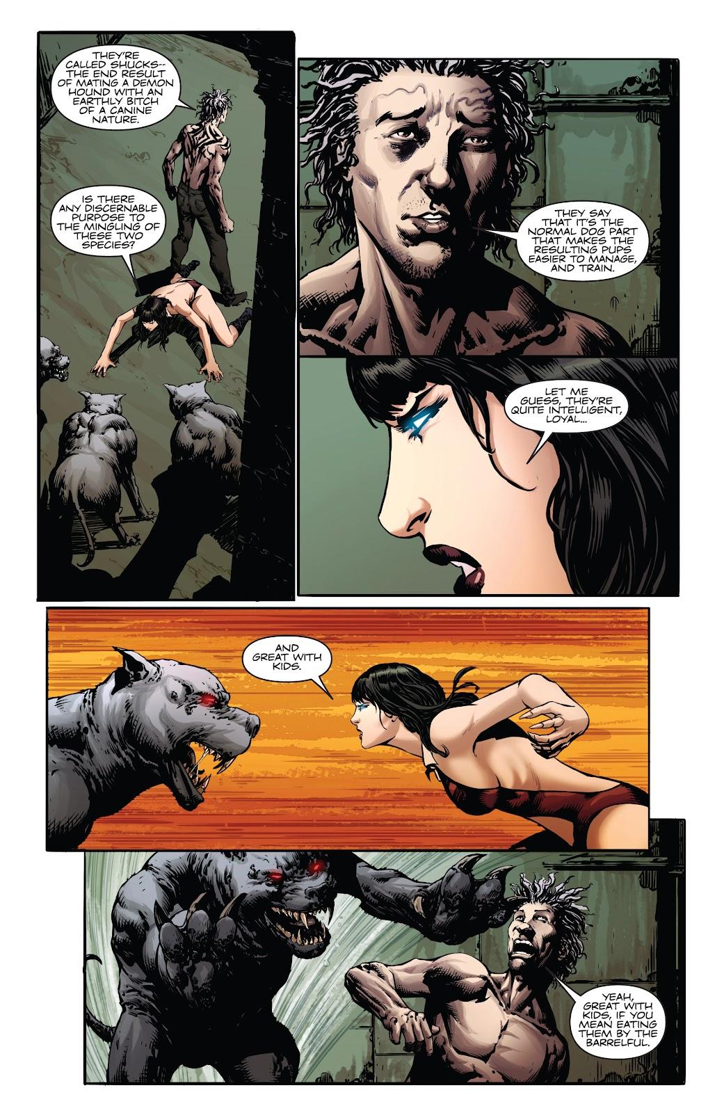 Read online Vampirella Strikes comic -  Issue #4 - 7