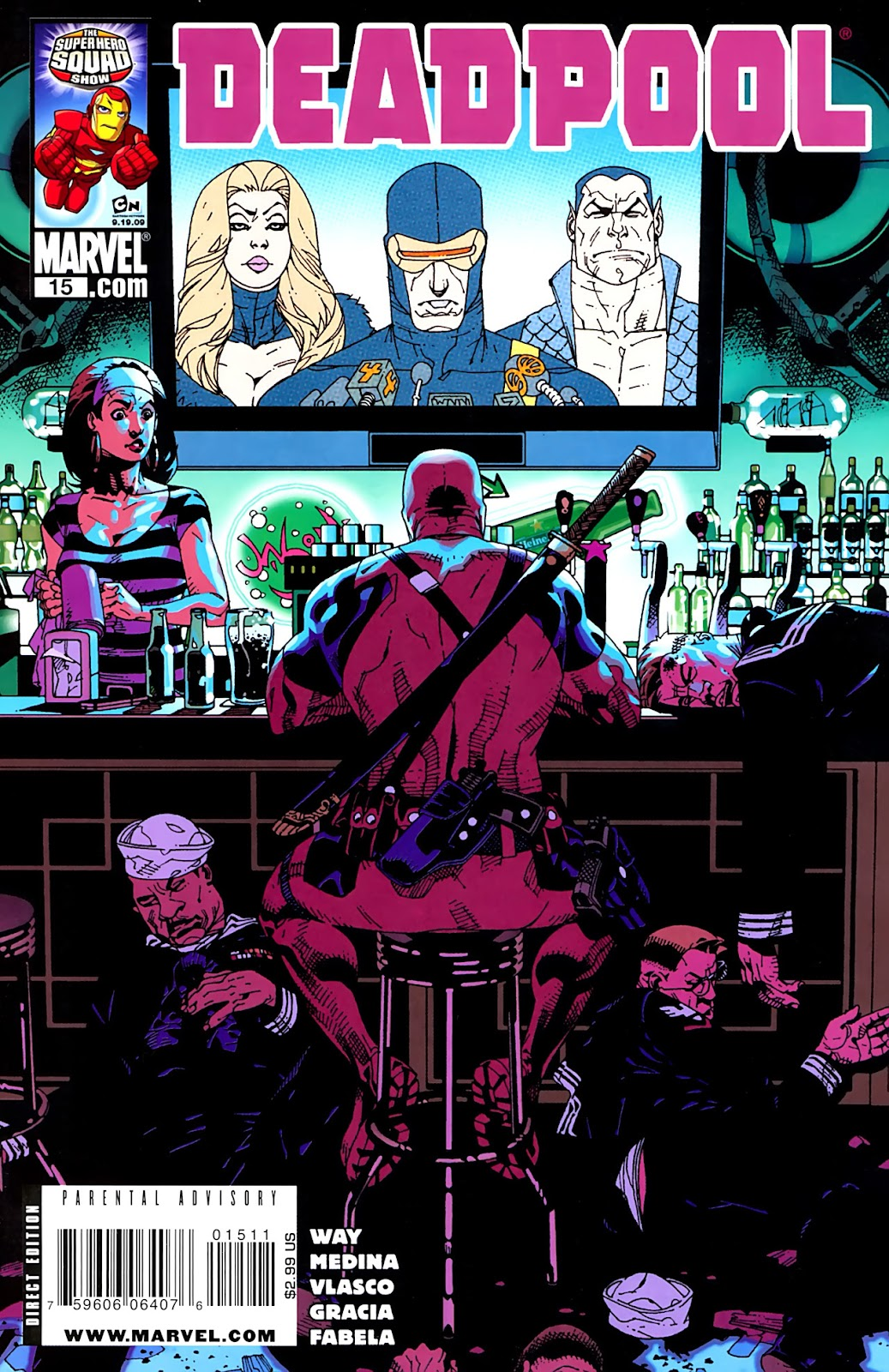 Read online Deadpool (2008) comic -  Issue #15 - 1