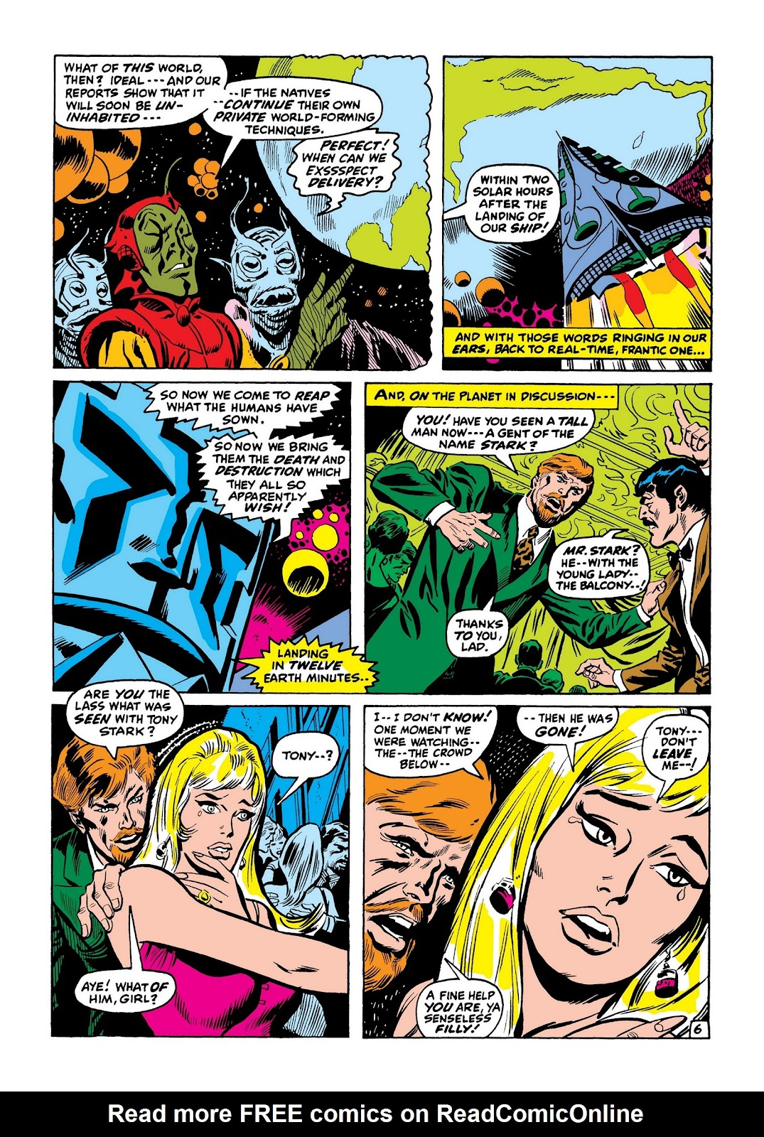 Read online Marvel Masterworks: The Invincible Iron Man comic -  Issue # TPB 7 (Part 3) - 55