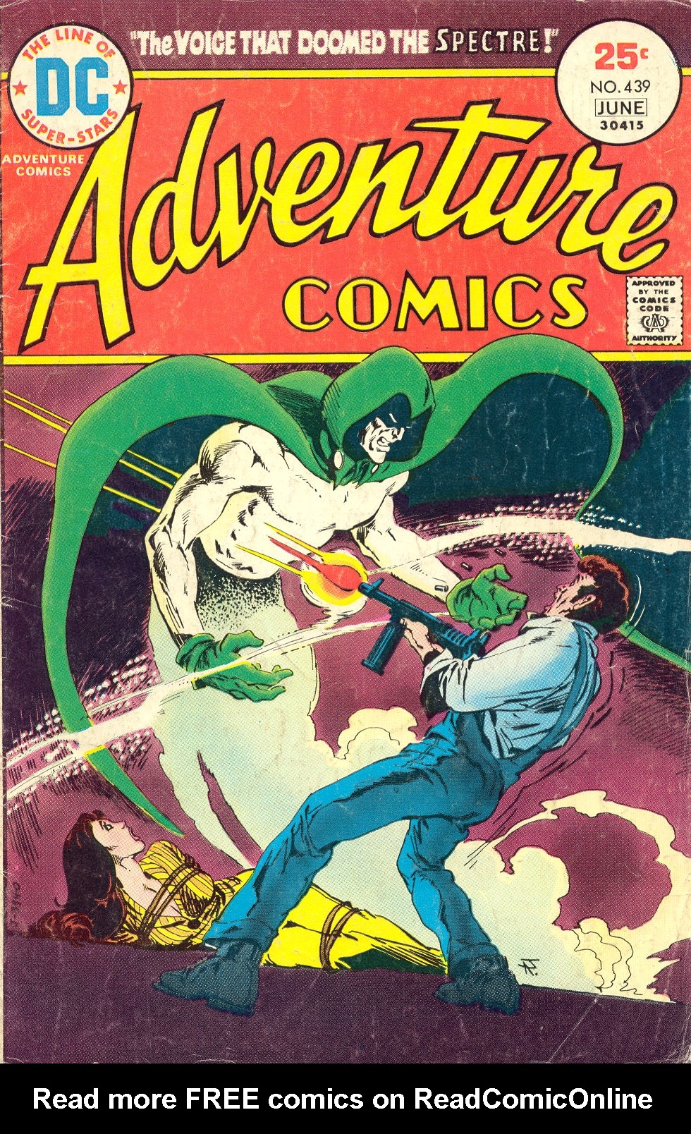Read online Adventure Comics (1938) comic -  Issue #439 - 1