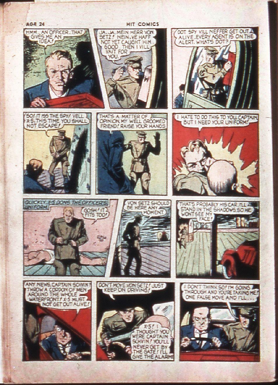 Read online Hit Comics comic -  Issue #4 - 26