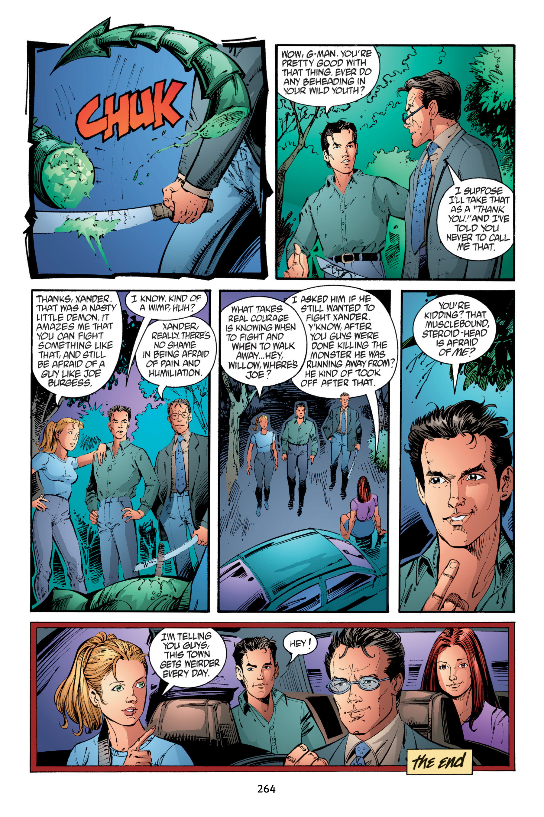 Read online Buffy the Vampire Slayer: Omnibus comic -  Issue # TPB 4 - 262