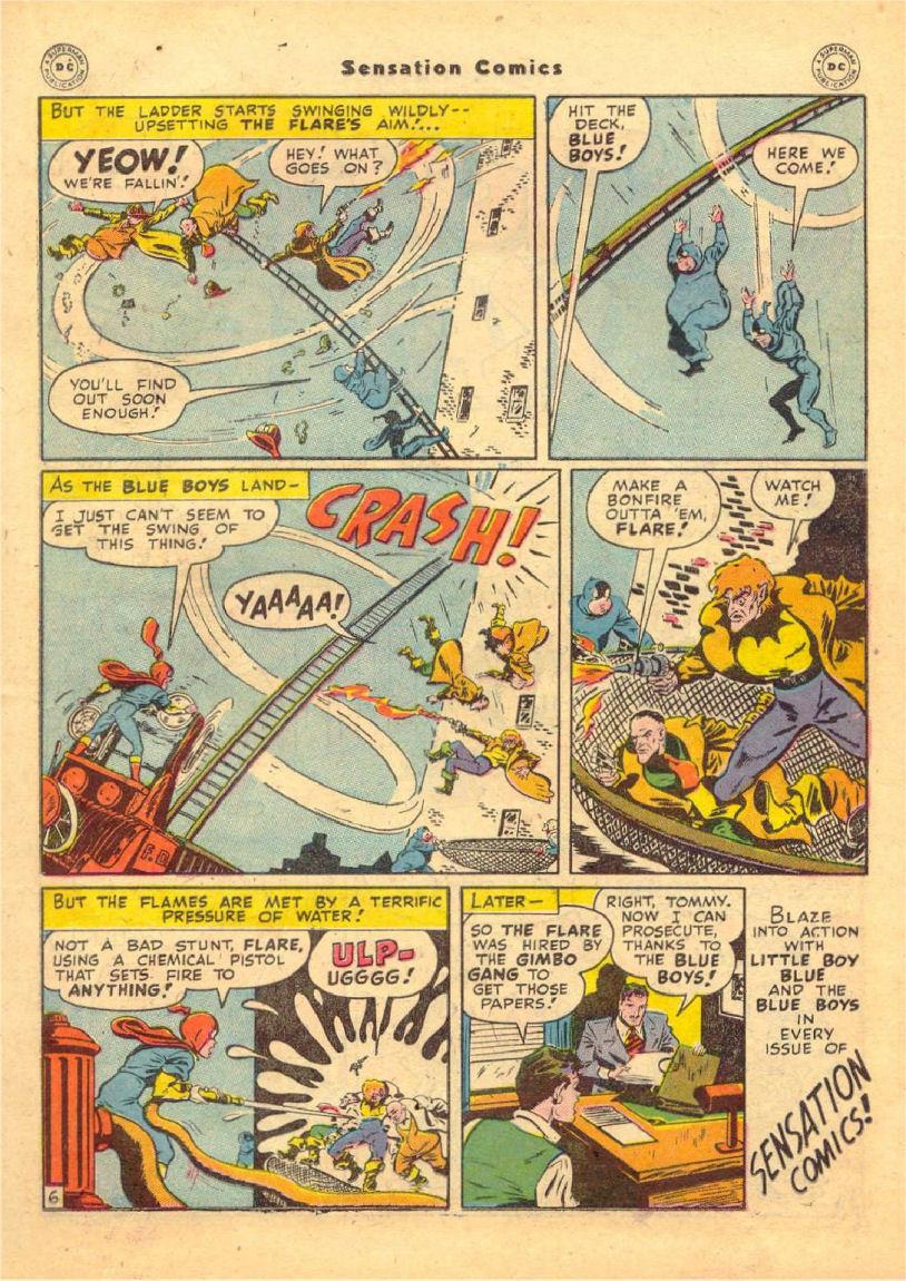 Read online Sensation (Mystery) Comics comic -  Issue #70 - 20