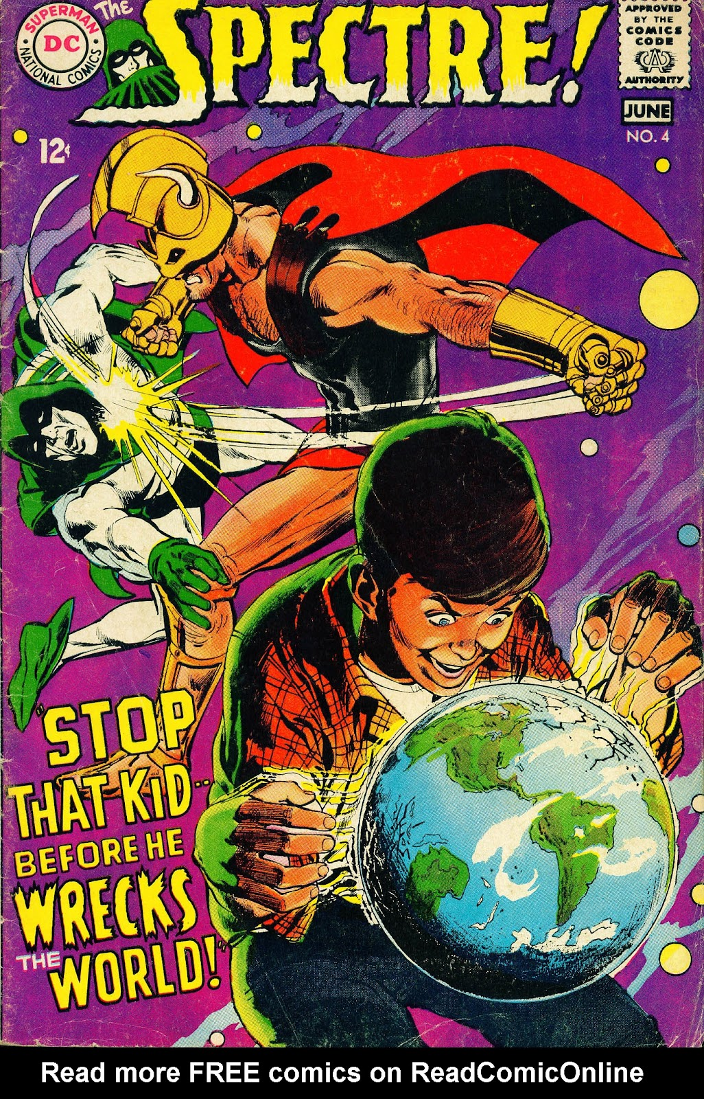 The Spectre (1967) issue 4 - Page 1