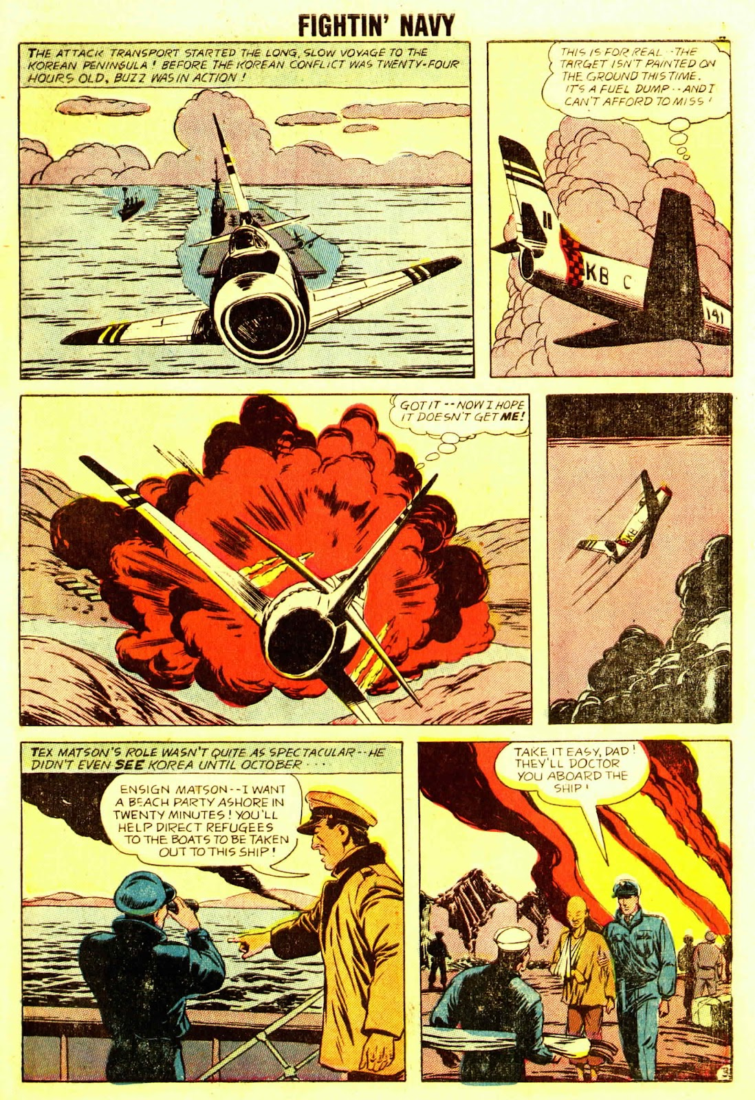 Read online Fightin' Navy comic -  Issue #83 - 13