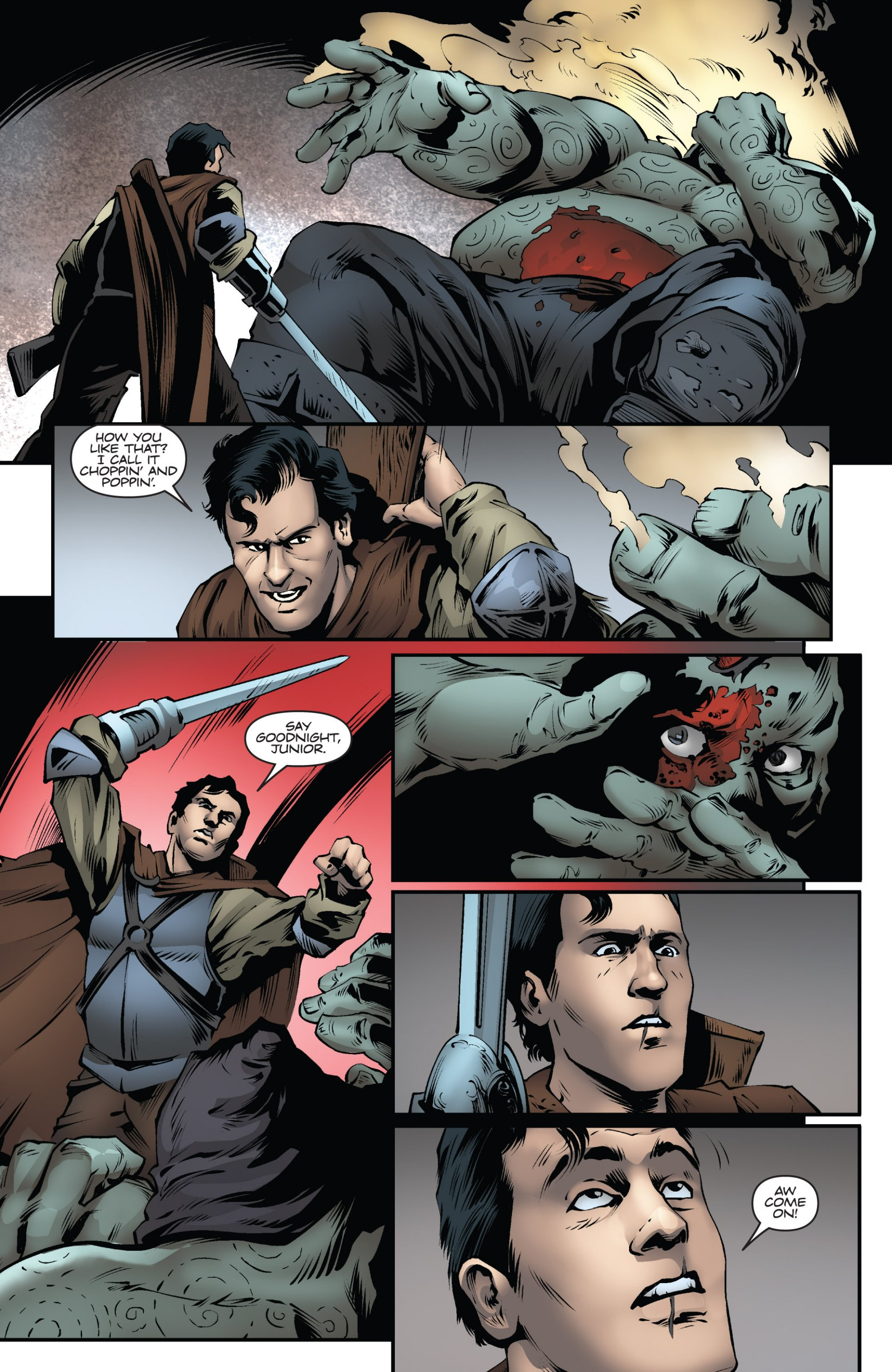 Read online Ash and the Army of Darkness comic -  Issue #6 - 21
