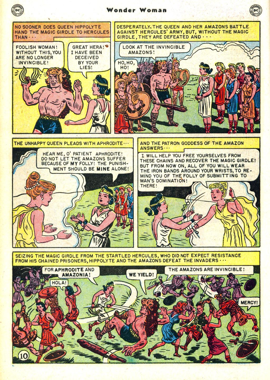 Read online Wonder Woman (1942) comic -  Issue #45 - 14