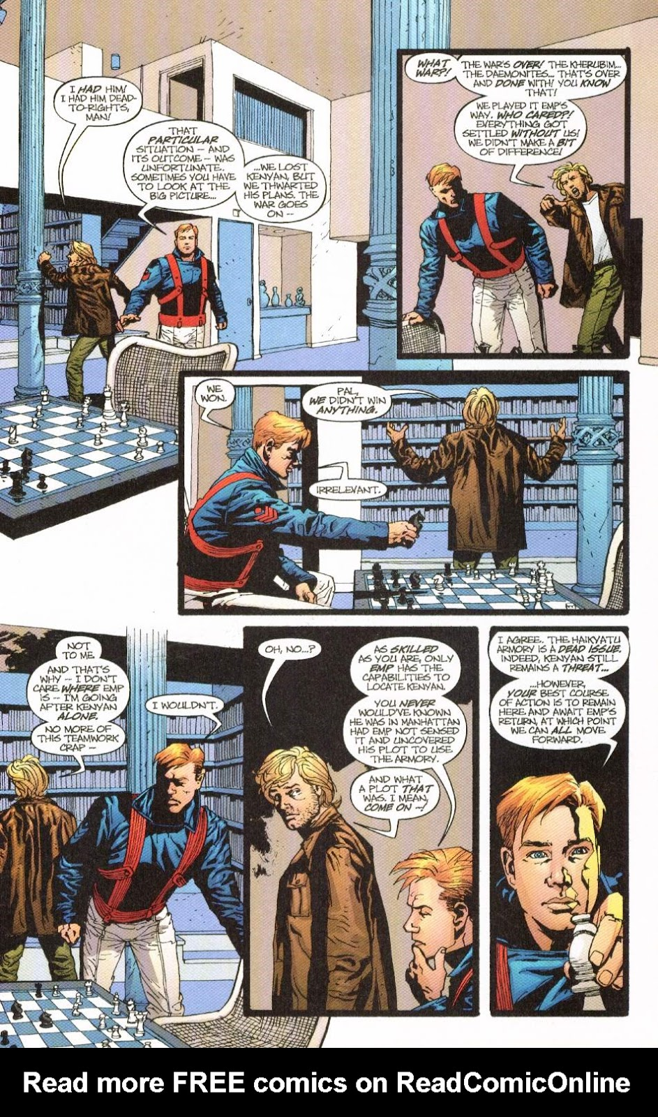 Wildcats (1999) Issue #8 #9 - English 4