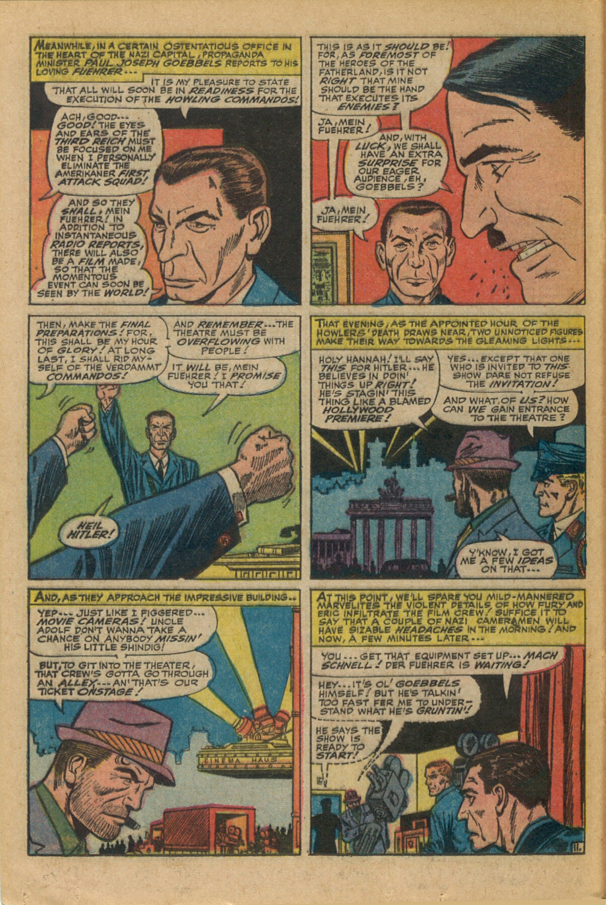 Read online Sgt. Fury comic -  Issue #35 - 16