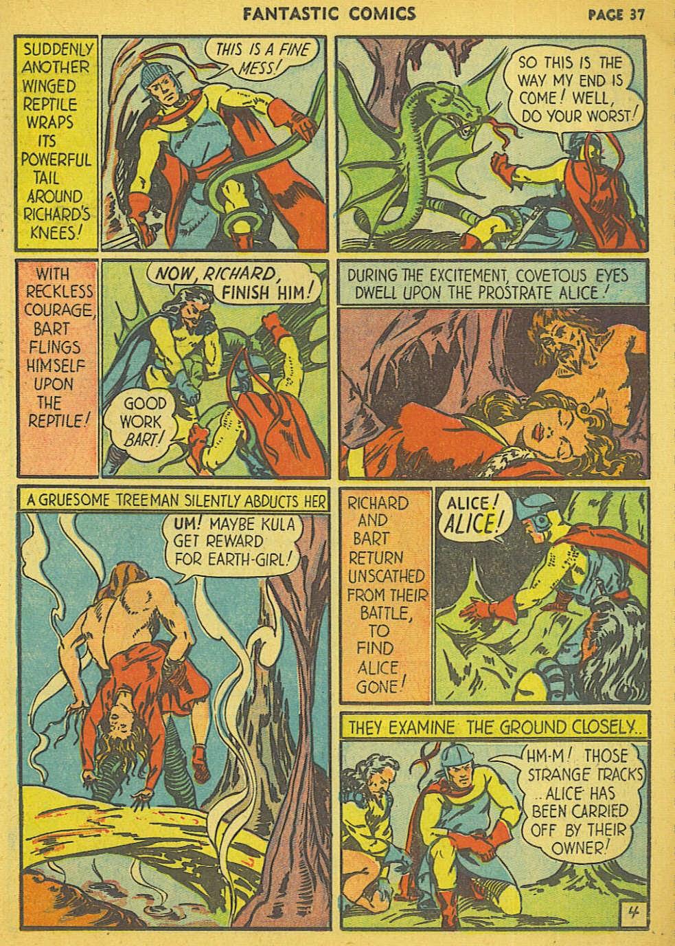 Read online Fantastic Comics comic -  Issue #15 - 30