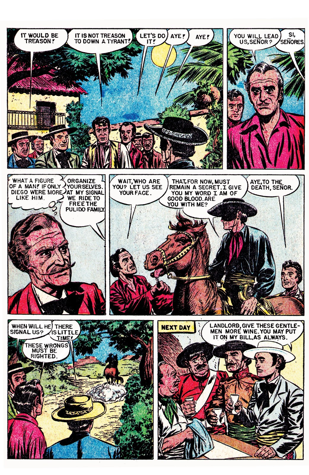 Read online AM Archives: The Mark of Zorro #1 1949 Dell Edition comic -  Issue #1 1949 Dell Edition Full - 27