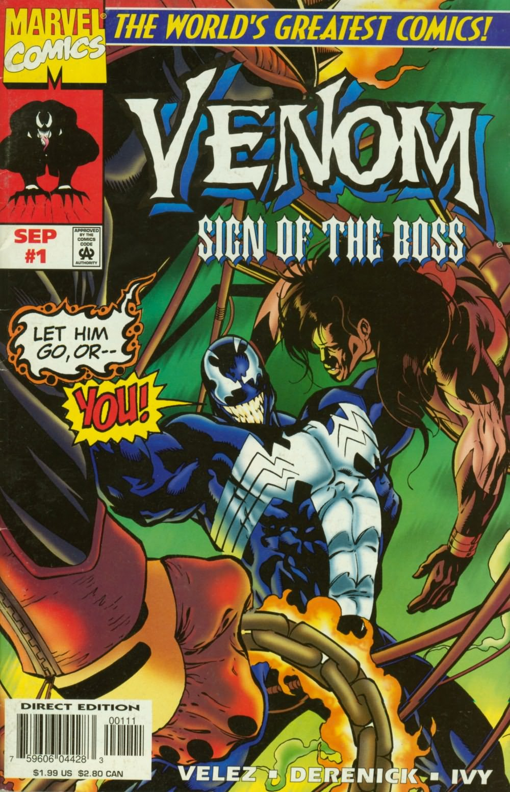 Venom: Sign of the Boss issue 1 - Page 1