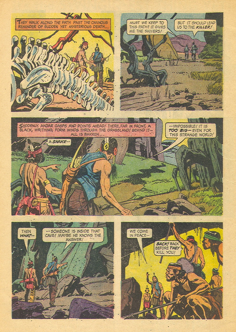 Read online Turok, Son of Stone comic -  Issue #42 - 4