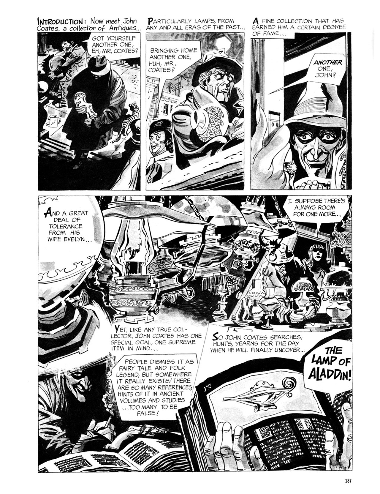 Read online Eerie Archives comic -  Issue # TPB 2 - 188