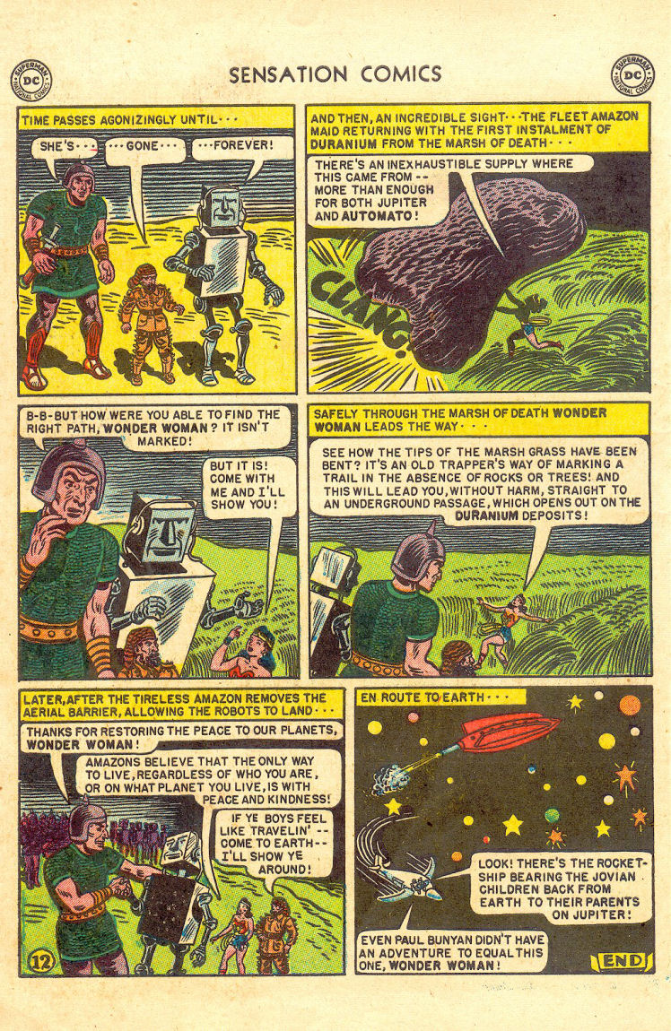 Read online Sensation (Mystery) Comics comic -  Issue #105 - 14