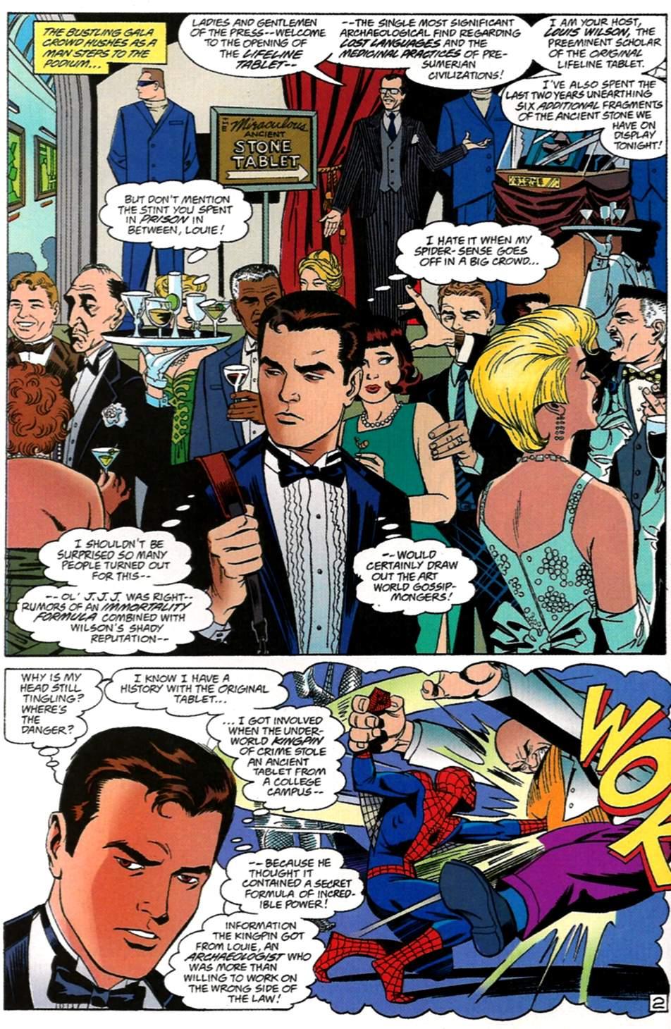 Read online Spider-Man: Lifeline comic -  Issue #1 - 3