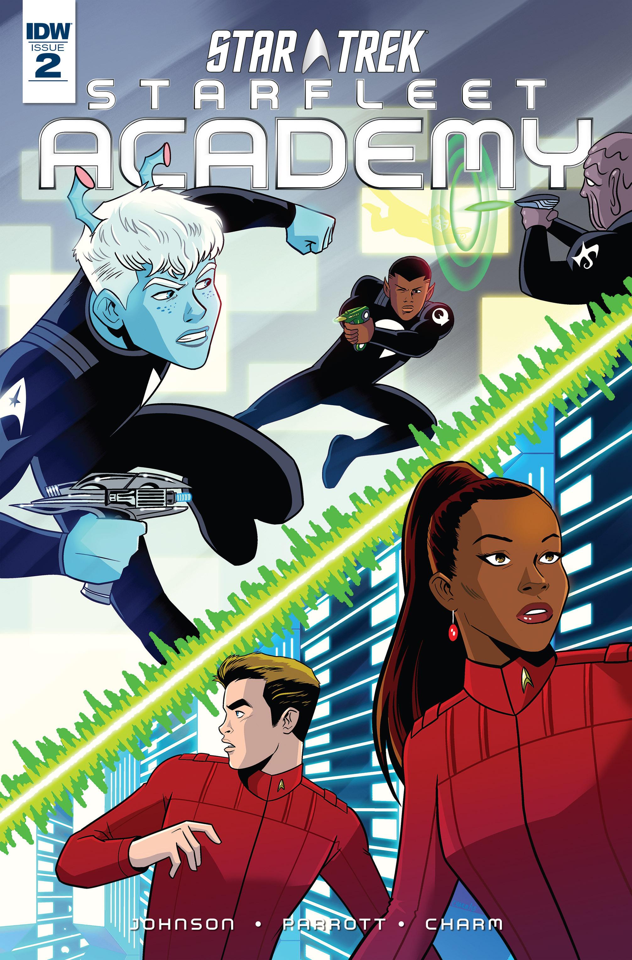 Star Trek - Starfleet Academy (2015) issue 2 - Page 1