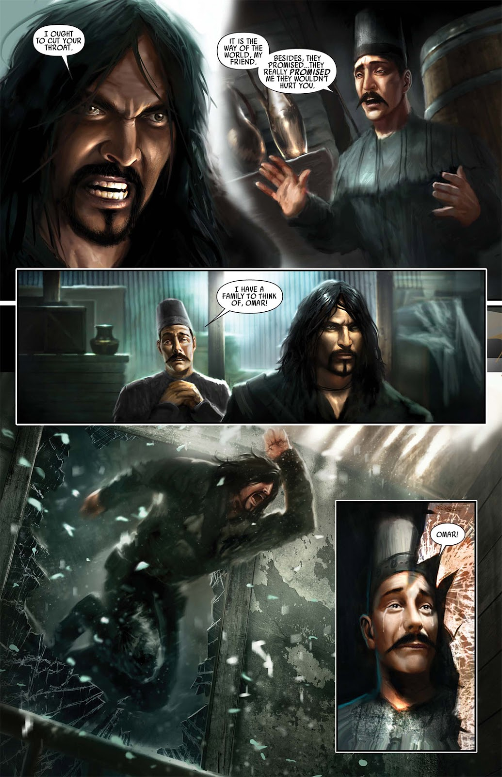 Read online After Dark comic -  Issue #1 - 12