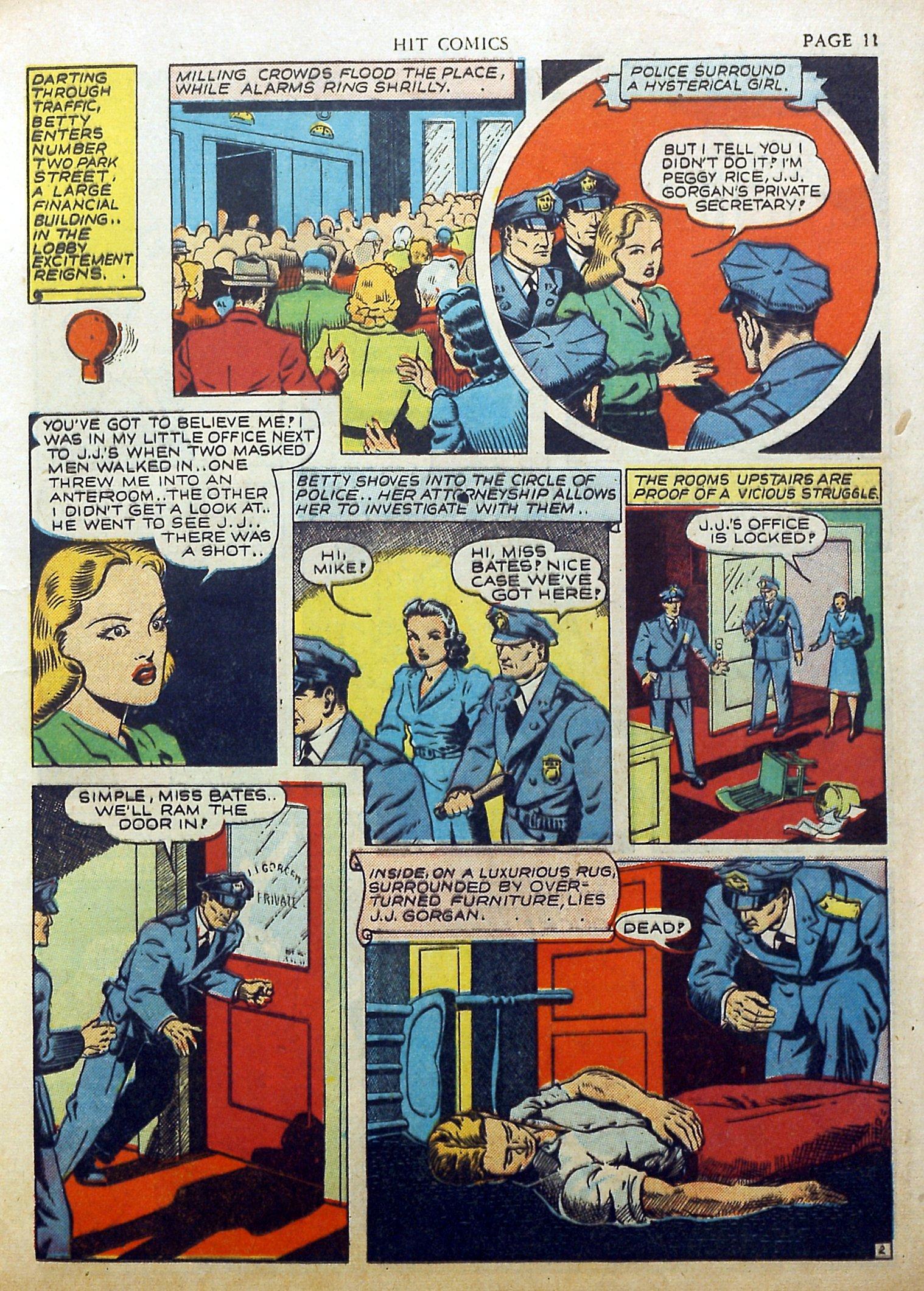 Read online Hit Comics comic -  Issue #17 - 13