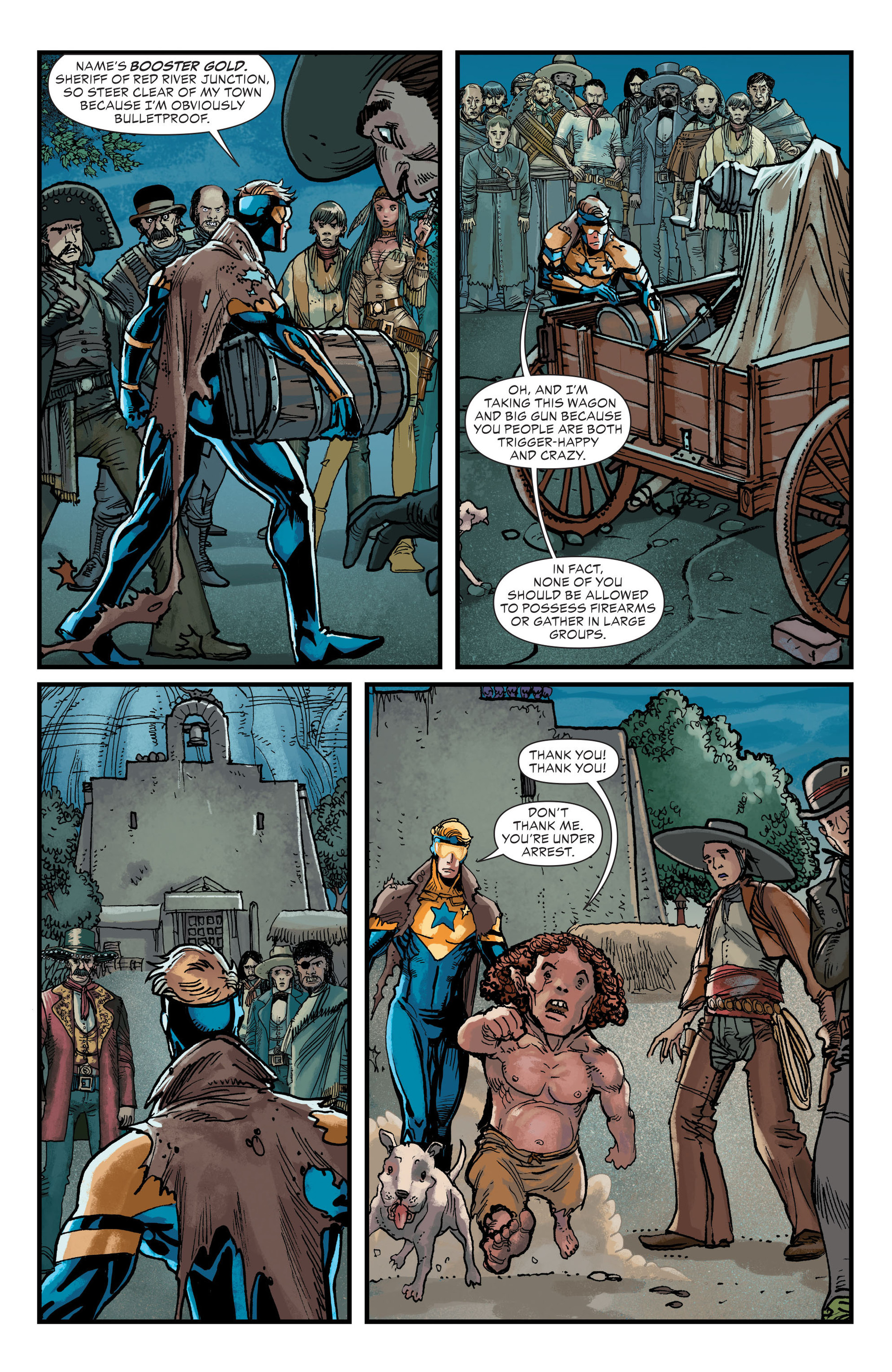 Read online All-Star Western (2011) comic -  Issue #20 - 18