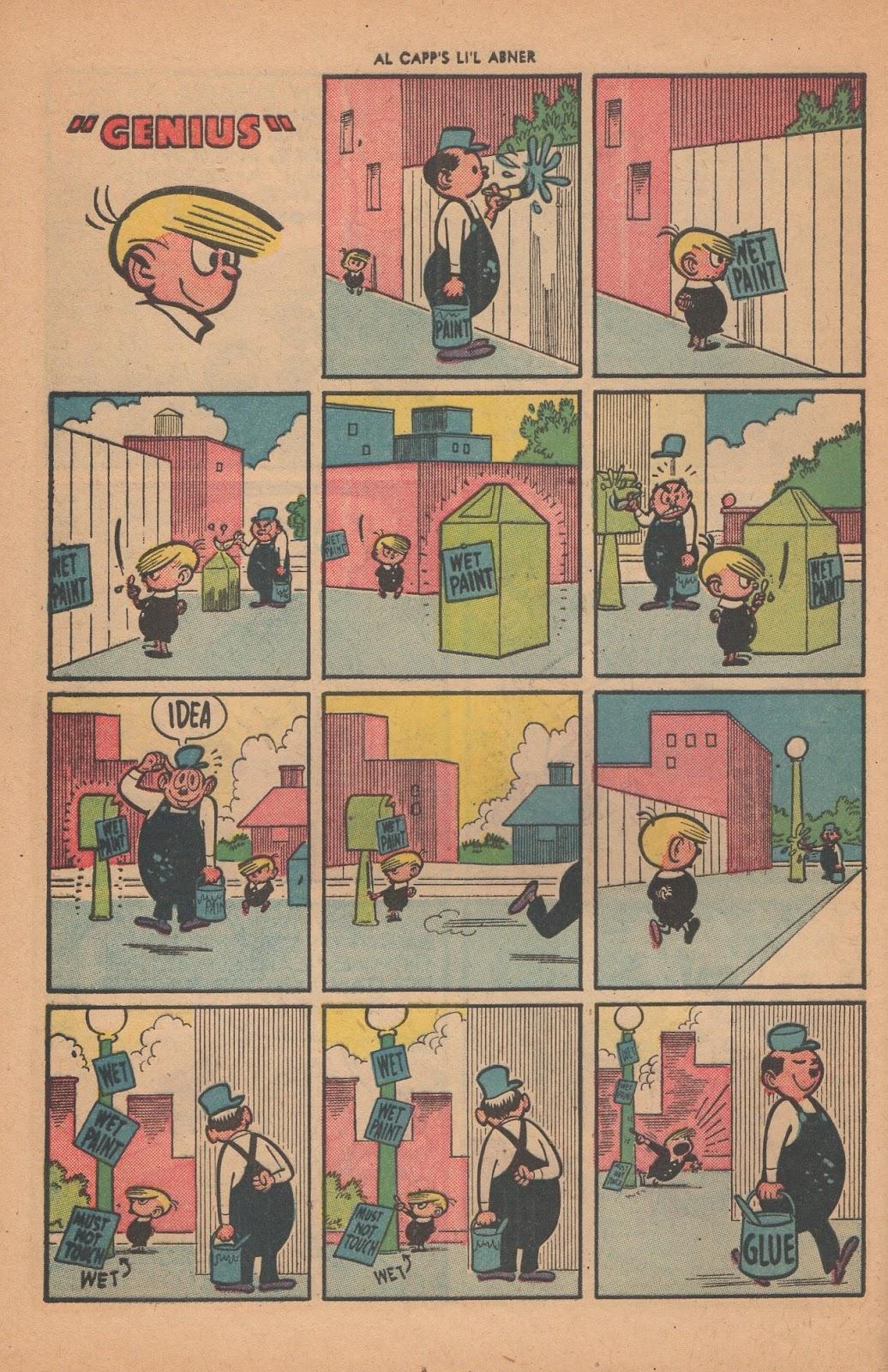 Li'l Abner Comics issue 77 - Page 28