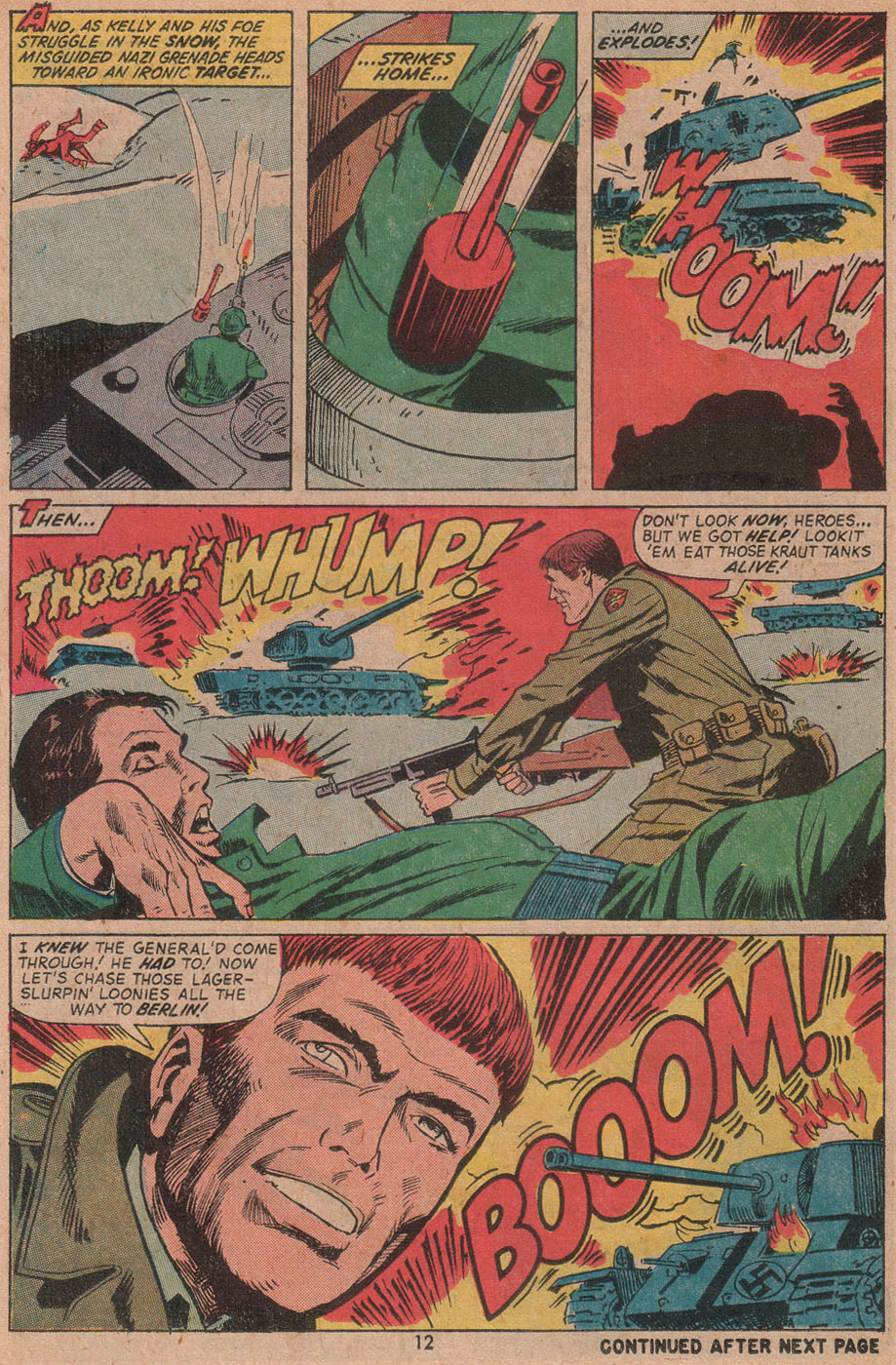 Read online Sgt. Fury comic -  Issue #104 - 14