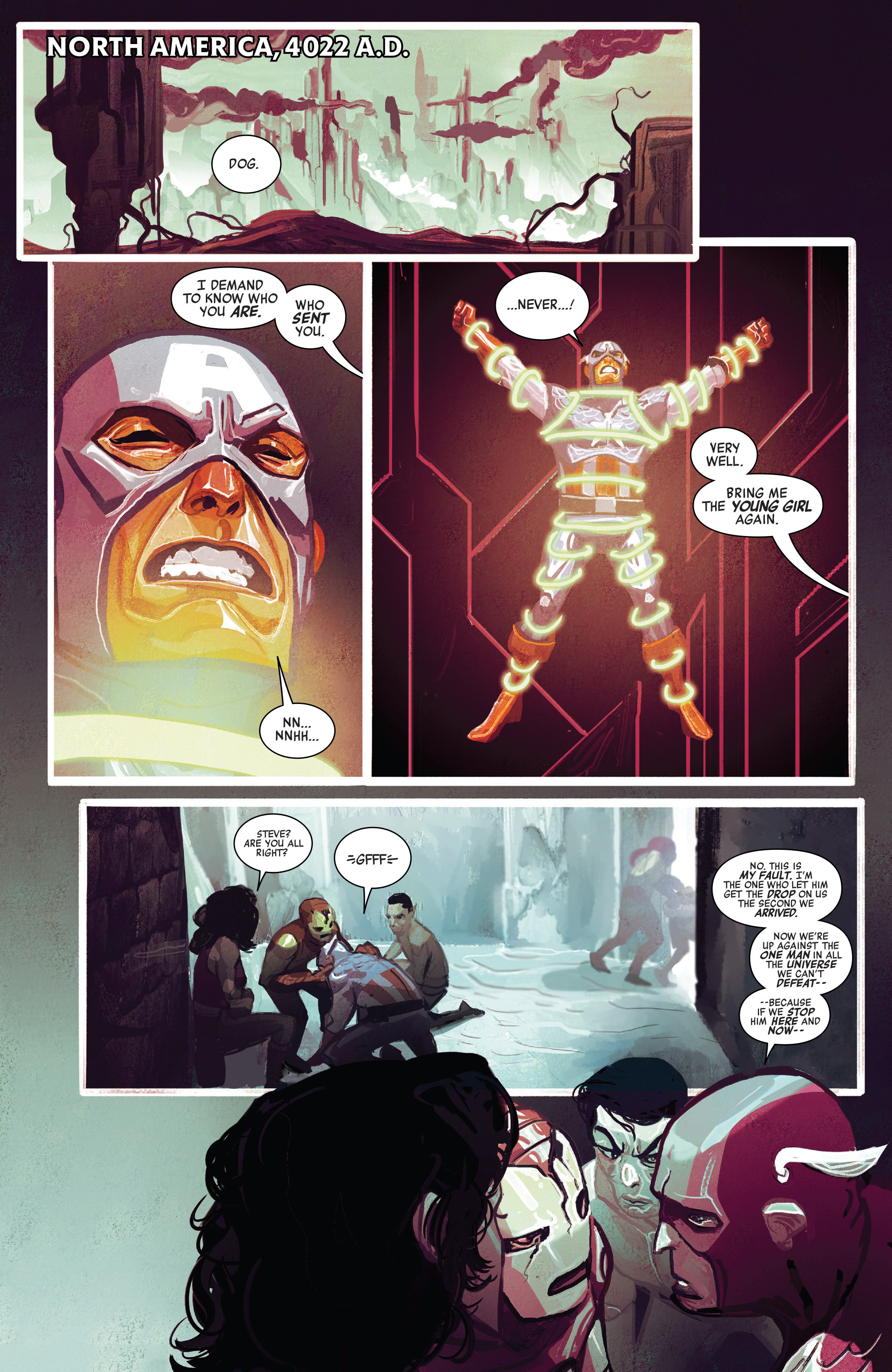 Read online Avengers (2016) comic -  Issue #5 - 21