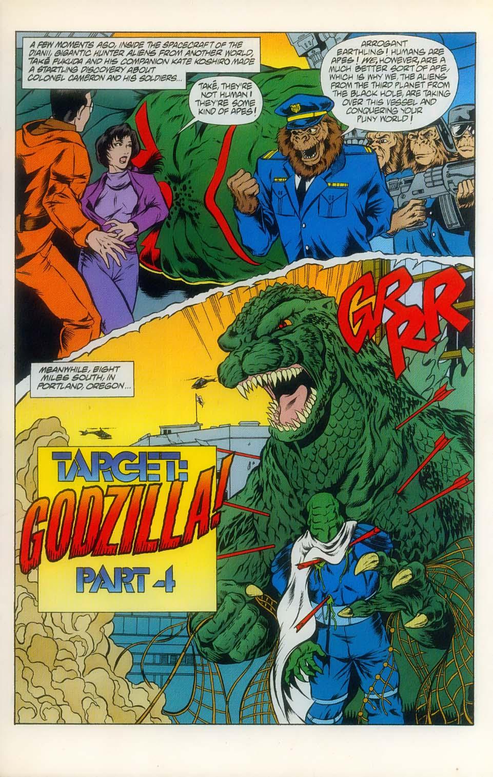 Godzilla (1995) Issue #8 #9 - English 3