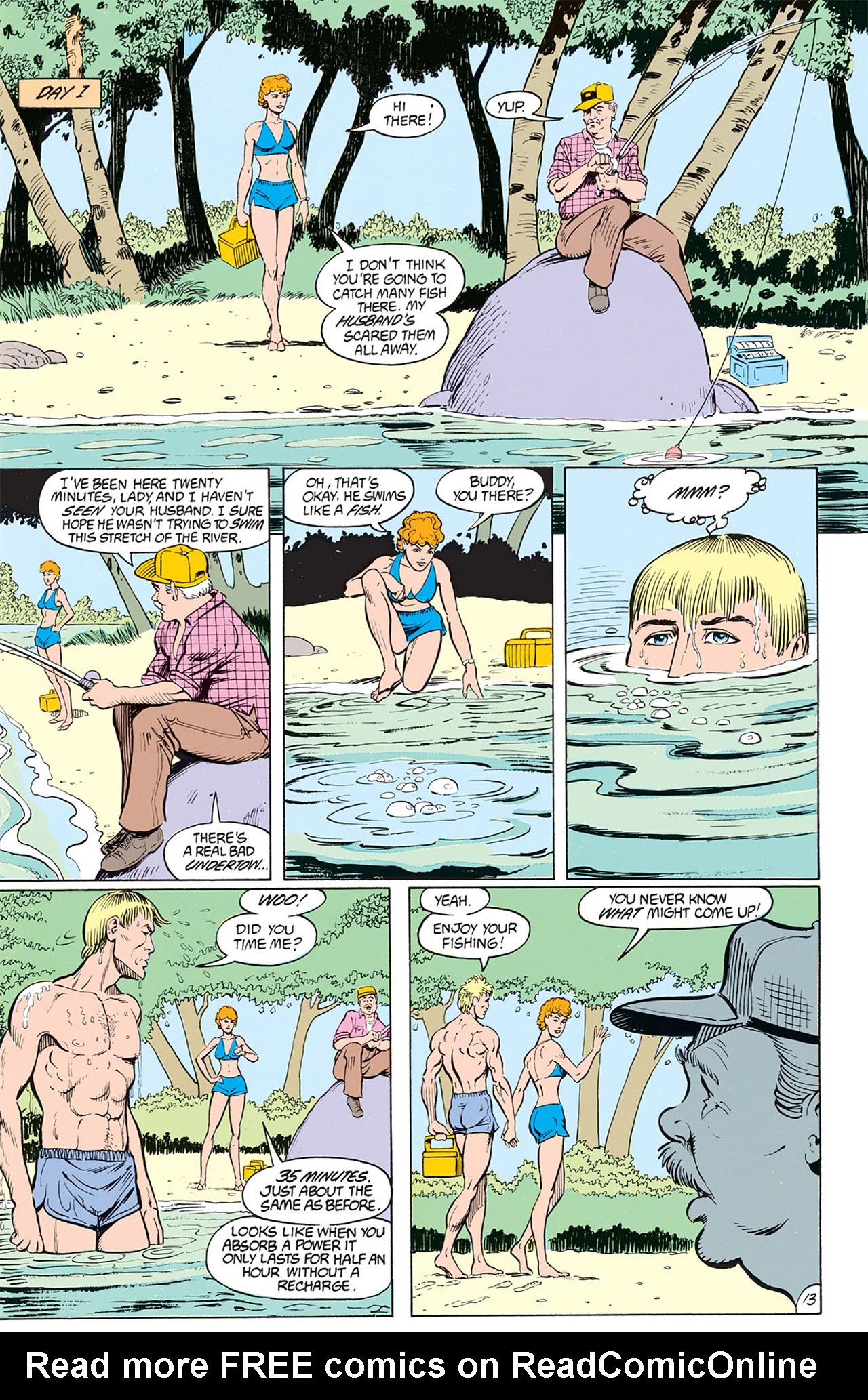 Read online Animal Man (1988) comic -  Issue #1 - 15