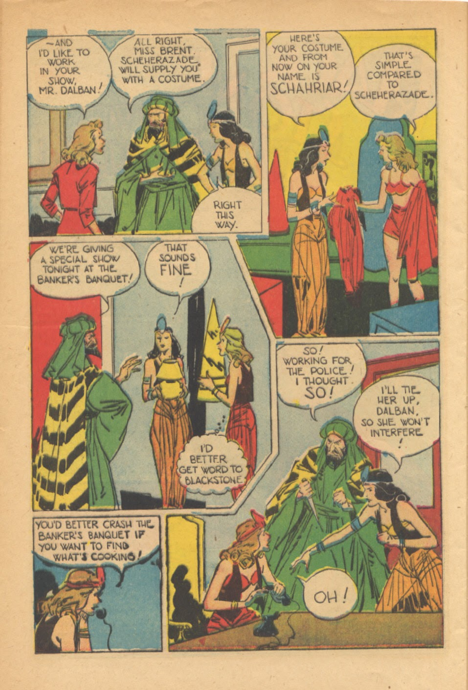 Read online Super-Magician Comics comic -  Issue #41 - 44