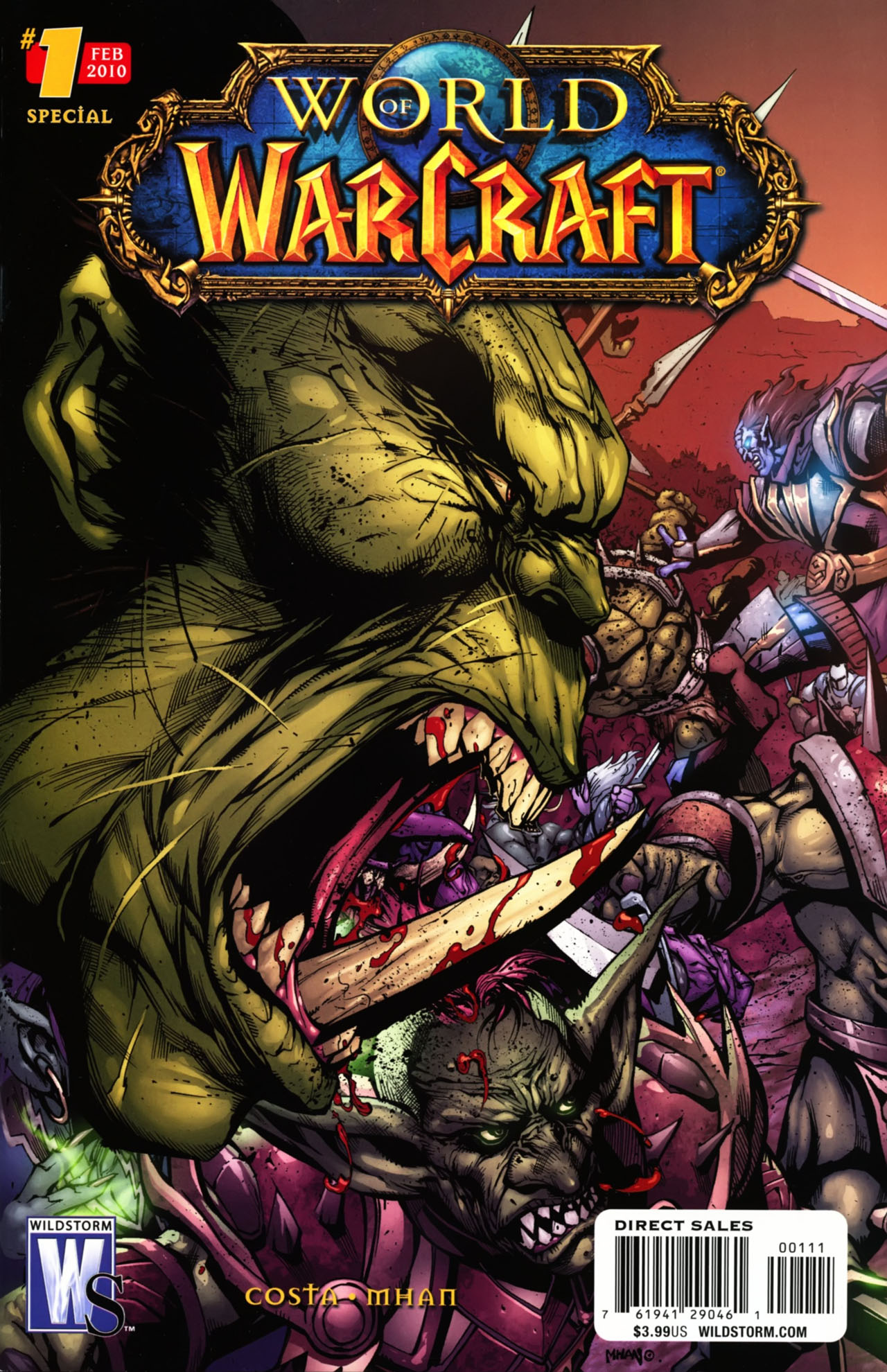 Read online World of Warcraft Special comic -  Issue # Full - 2