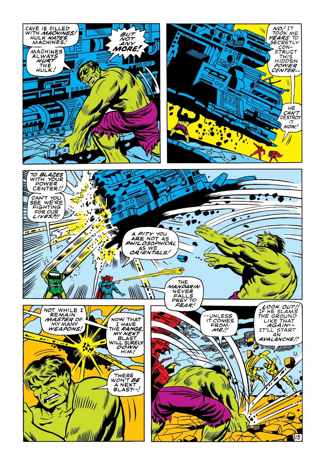 Read online Marvel Masterworks: The Incredible Hulk comic -  Issue # TPB 5 (Part 1) - 84