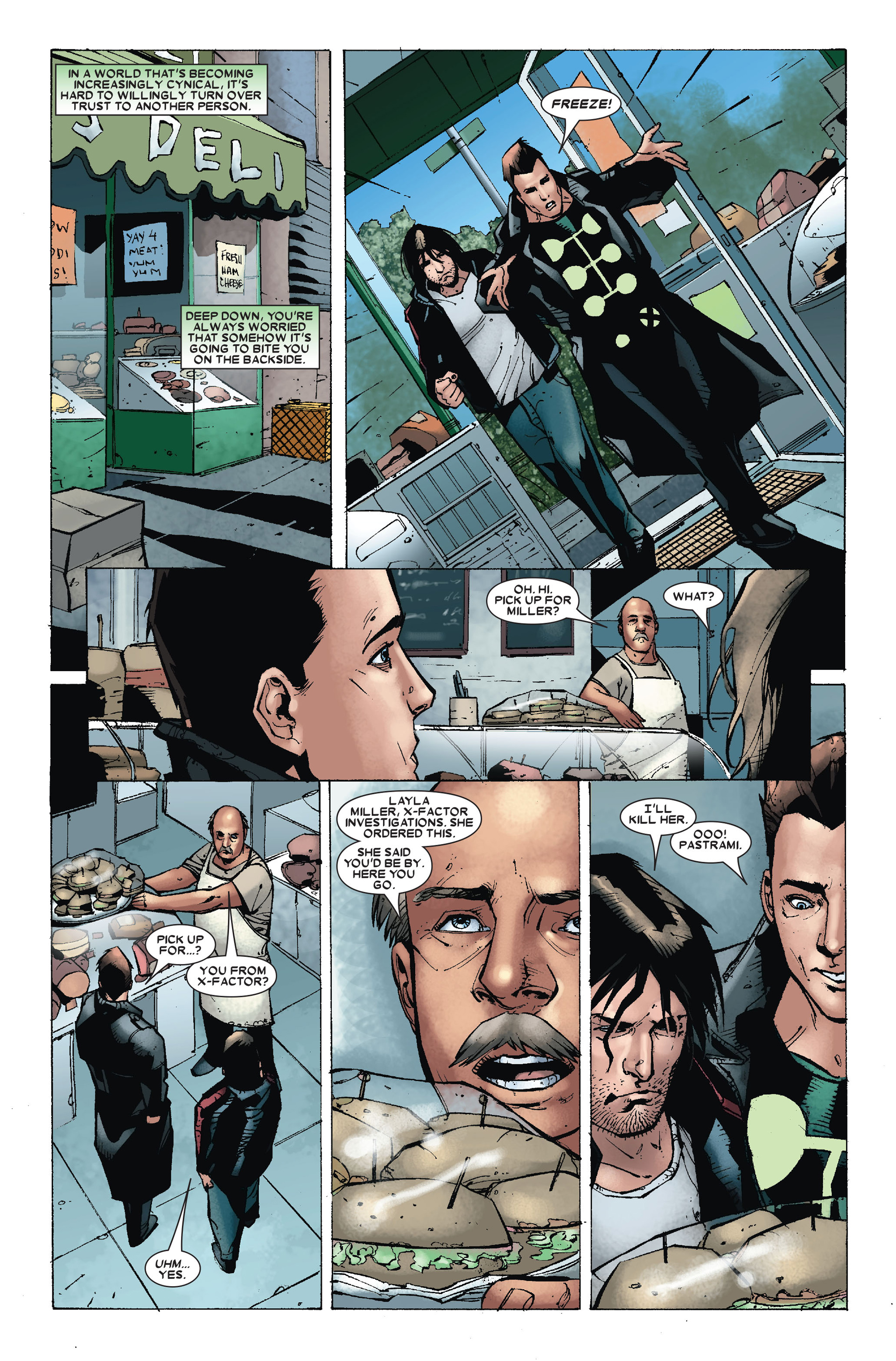 Read online X-Factor (2006) comic -  Issue #18 - 14