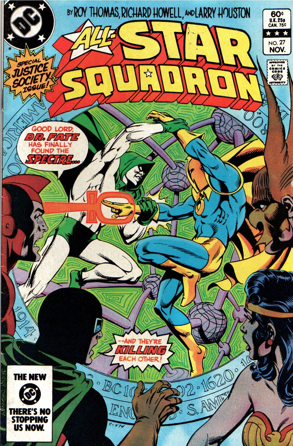 Read online All-Star Squadron comic -  Issue #27 - 1
